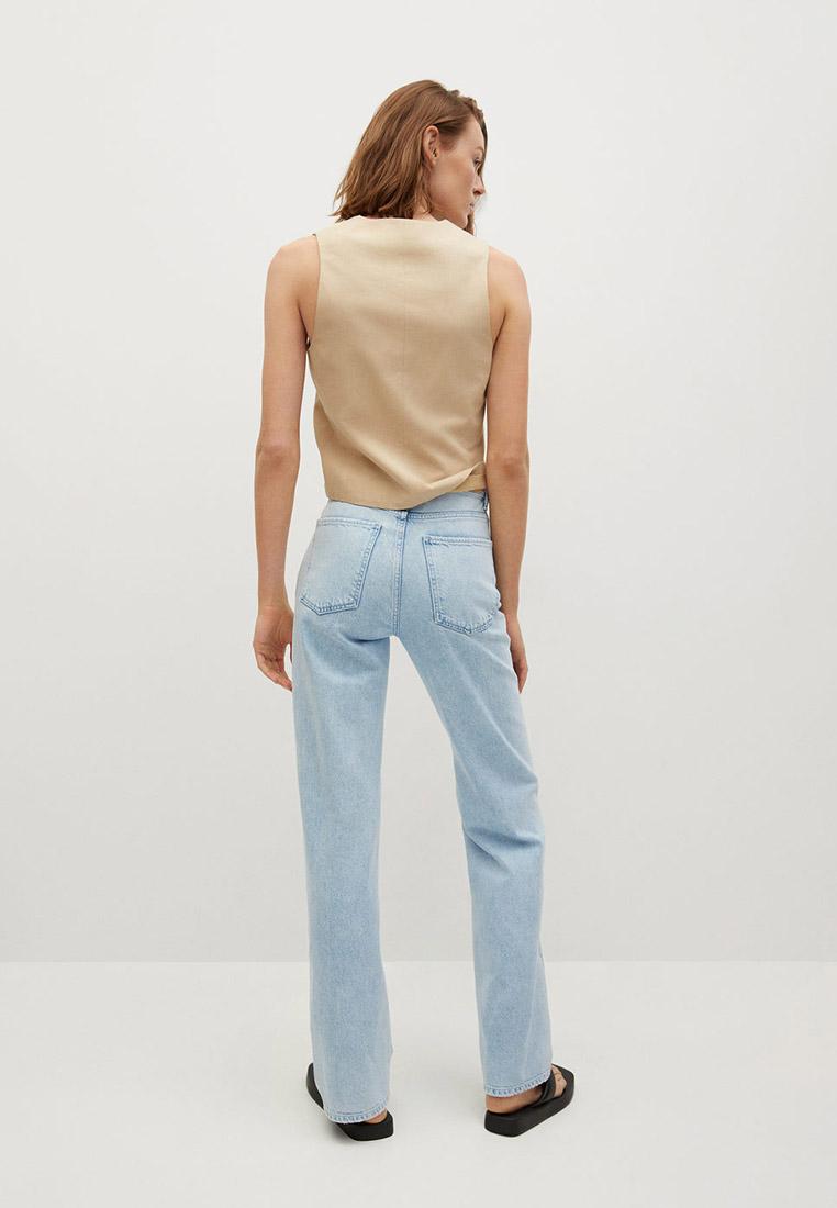 Прямые джинсы Mango (Манго) 87067160: изображение 3