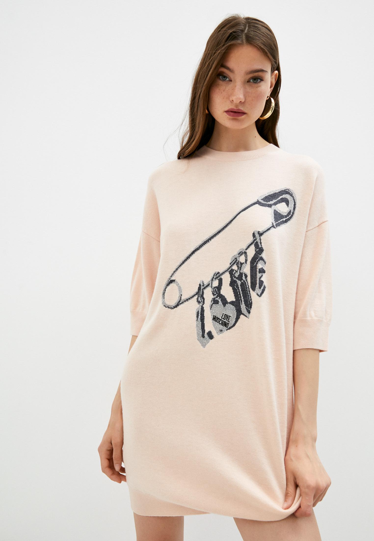 Вязаное платье Love Moschino Платье Love Moschino