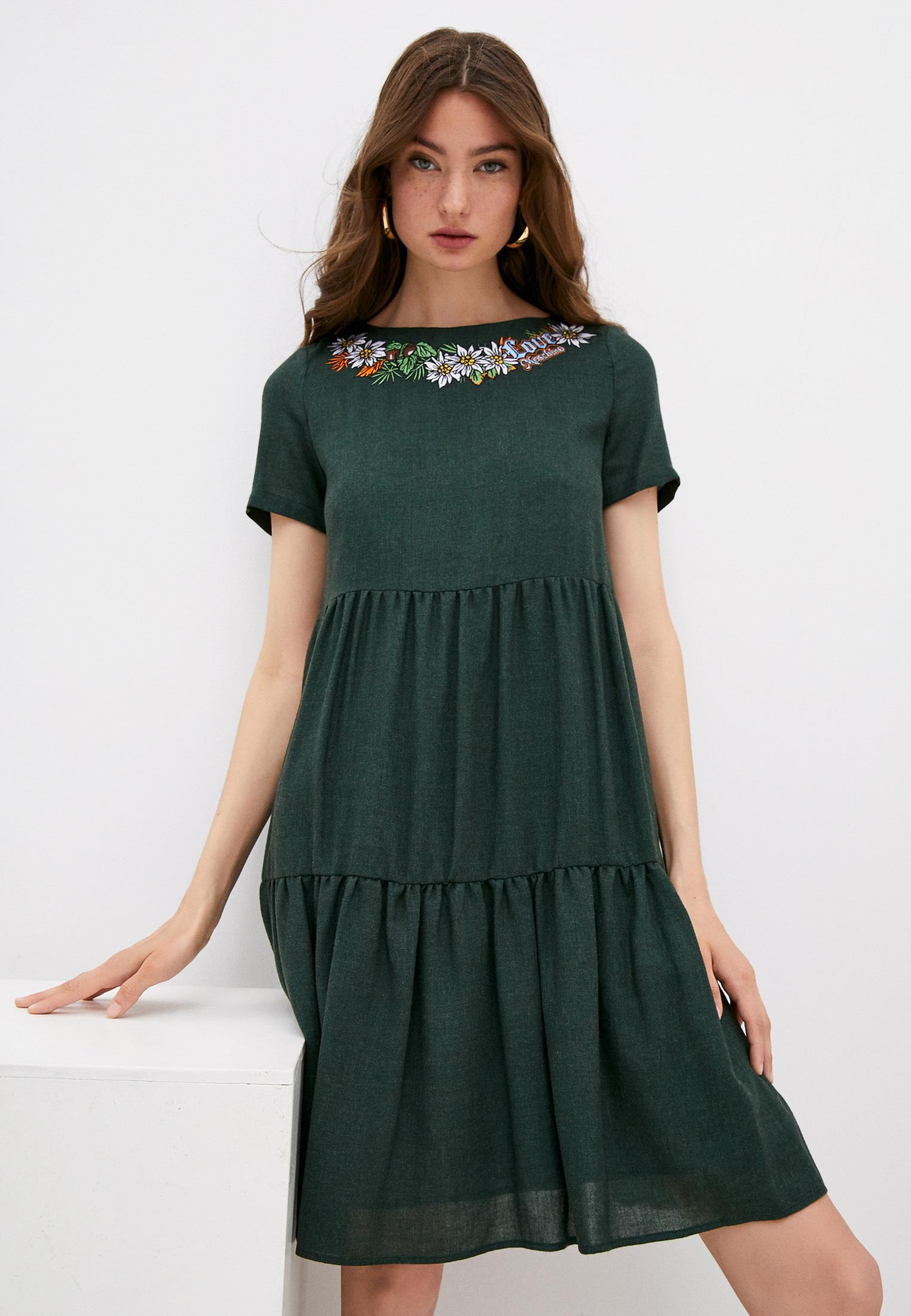 Повседневное платье Love Moschino WVG9501T9588
