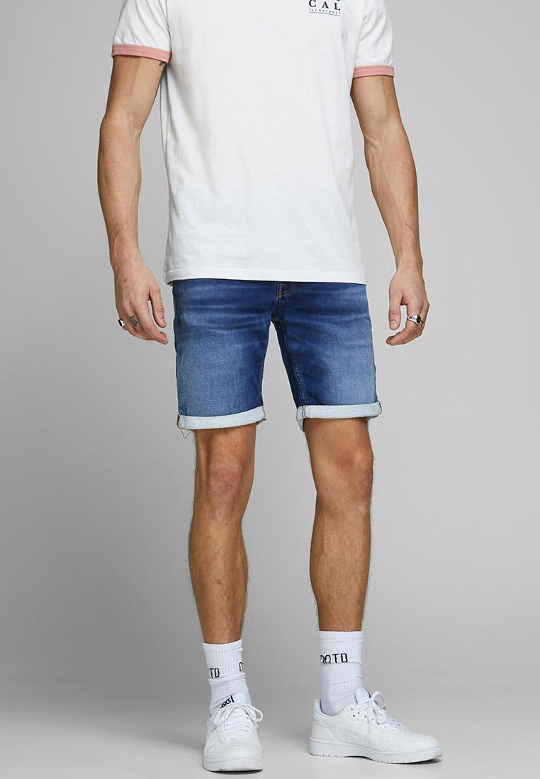 Мужские джинсовые шорты Jack & Jones (Джек Энд Джонс) 12166269