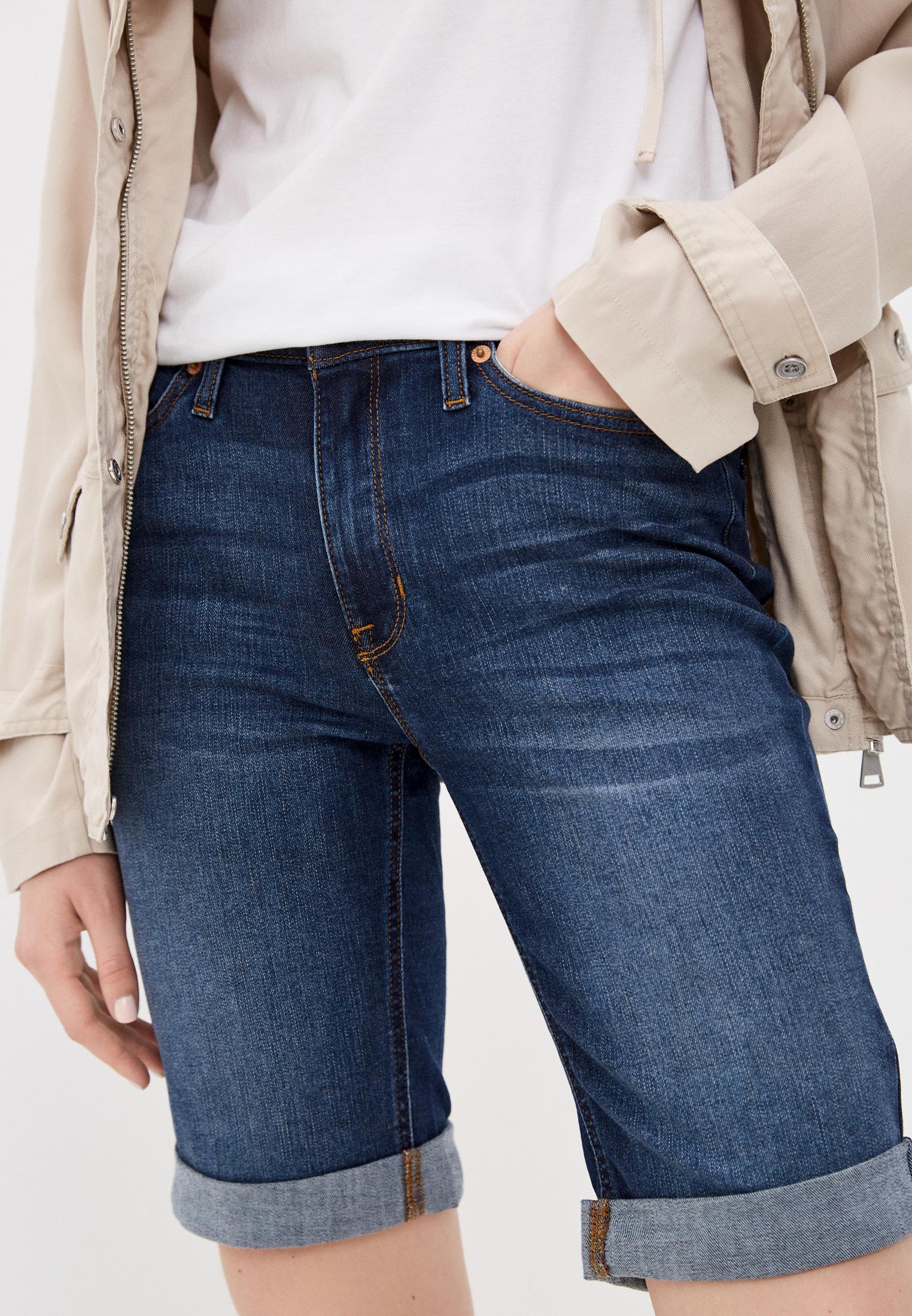 Женские джинсовые шорты DKNY Шорты джинсовые DKNY