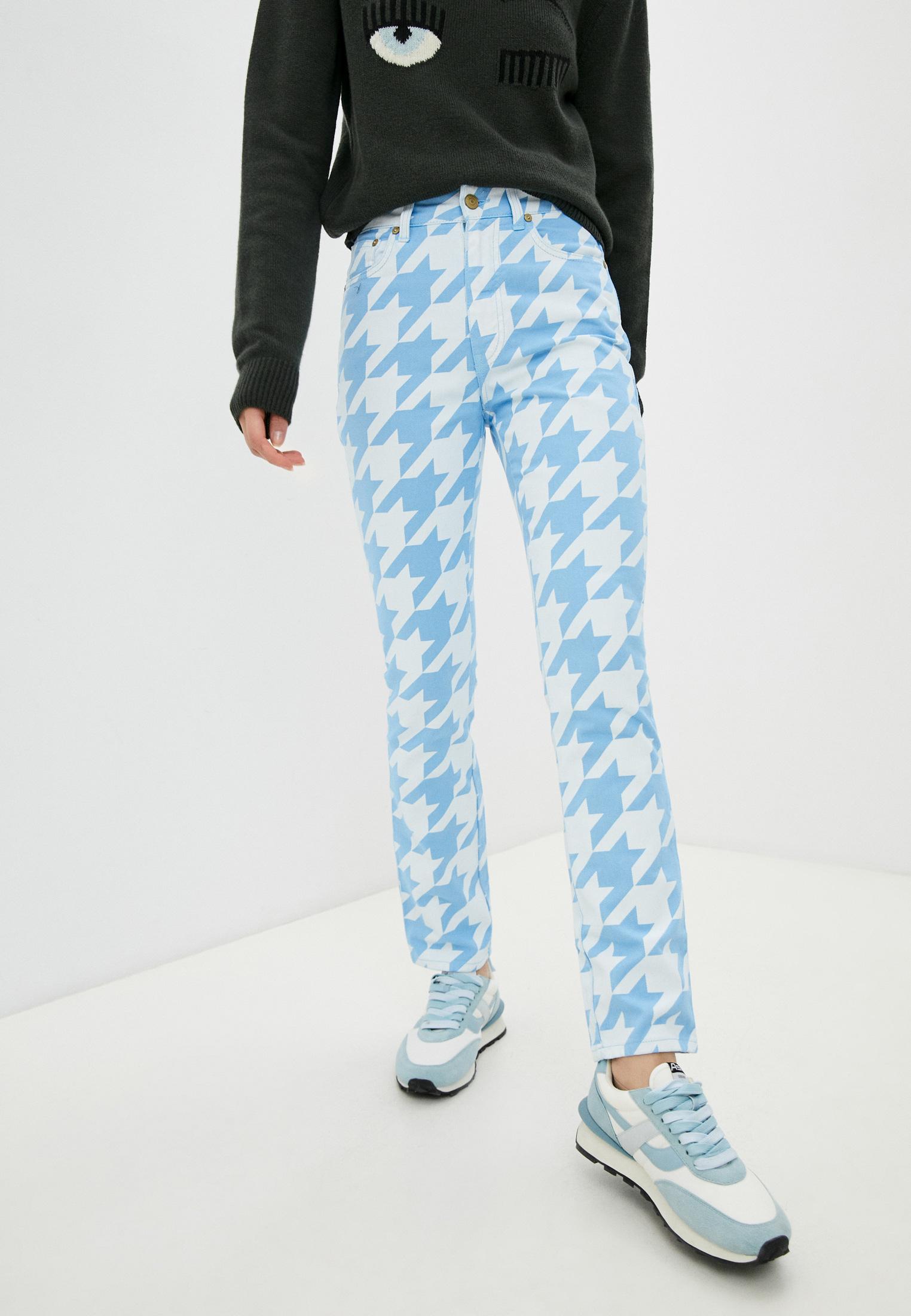 Прямые джинсы Chiara Ferragni Collection 19AI-CFJS010