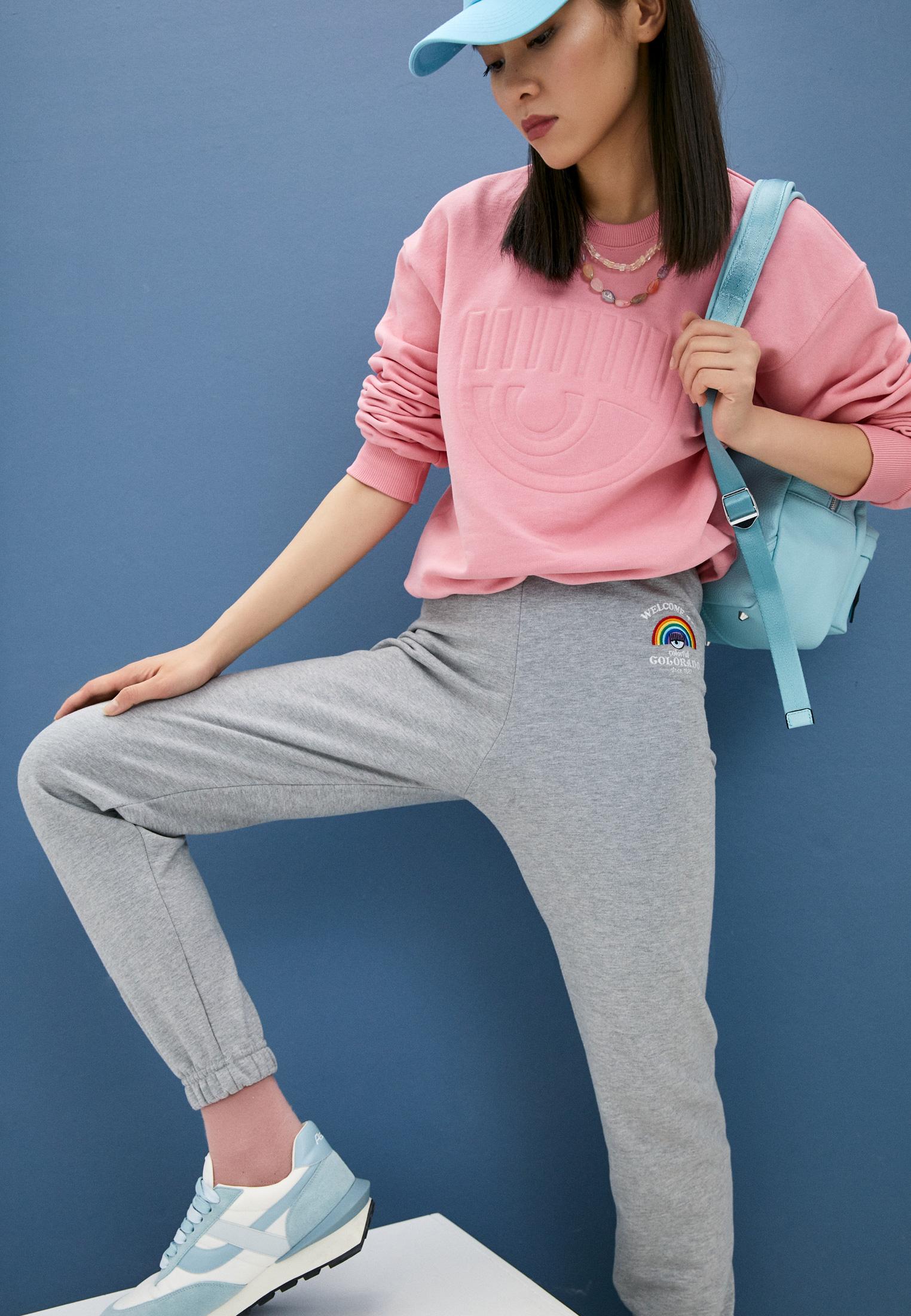 Женские спортивные брюки Chiara Ferragni Collection 19PE-CFP023: изображение 2