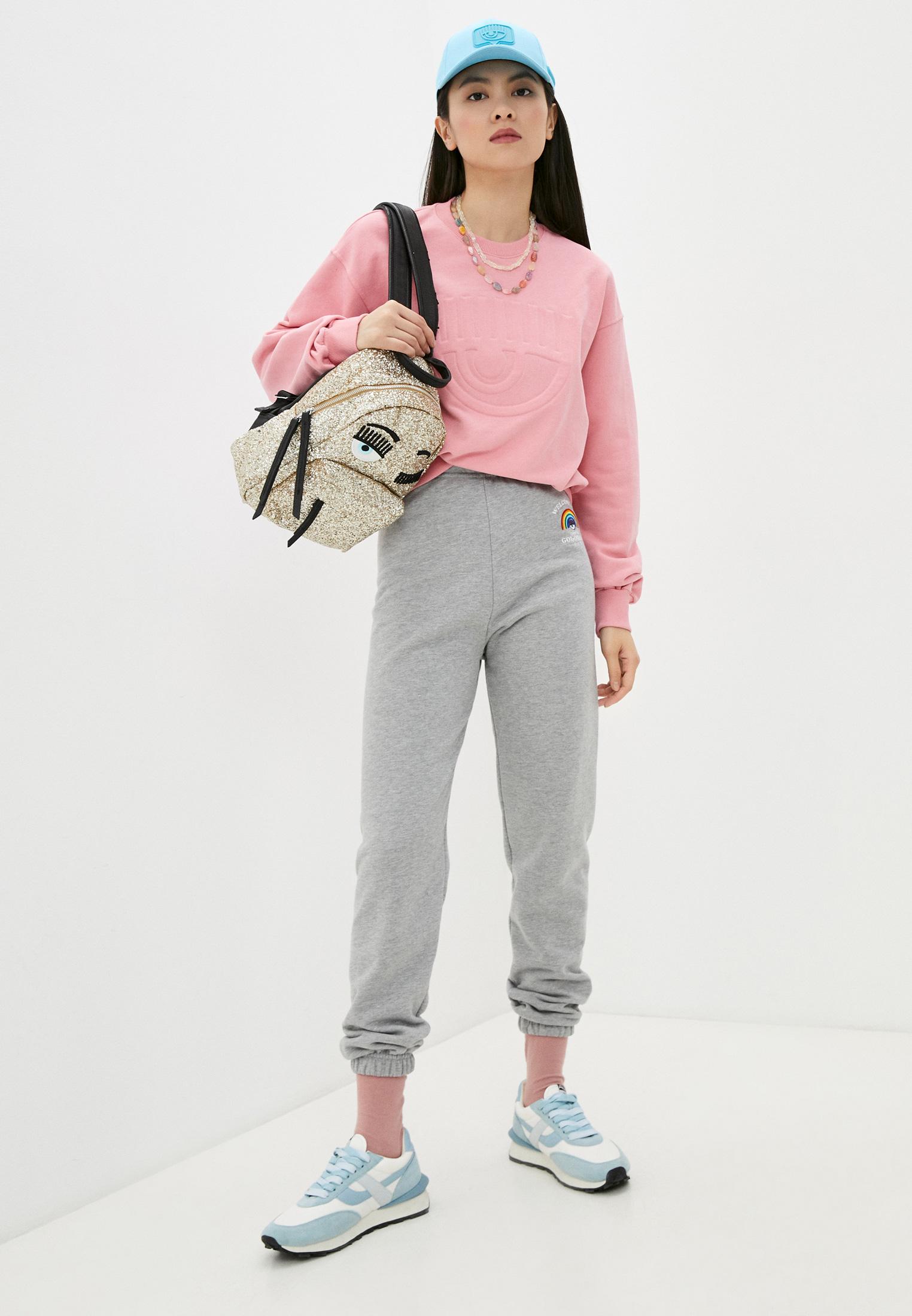 Женские спортивные брюки Chiara Ferragni Collection 19PE-CFP023: изображение 3