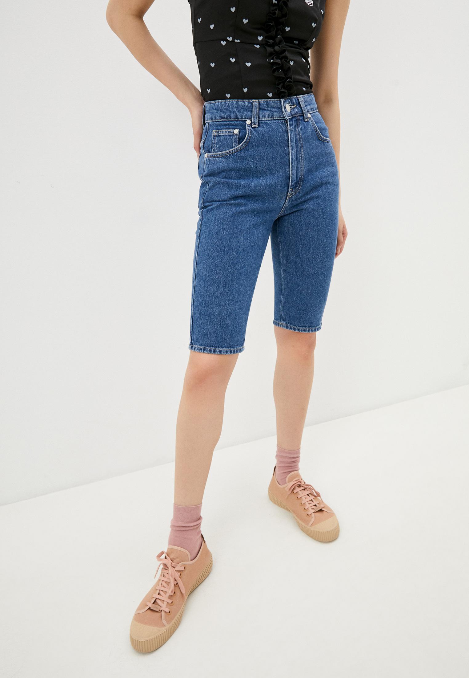 Женские джинсовые шорты Chiara Ferragni Collection Шорты джинсовые Chiara Ferragni Collection