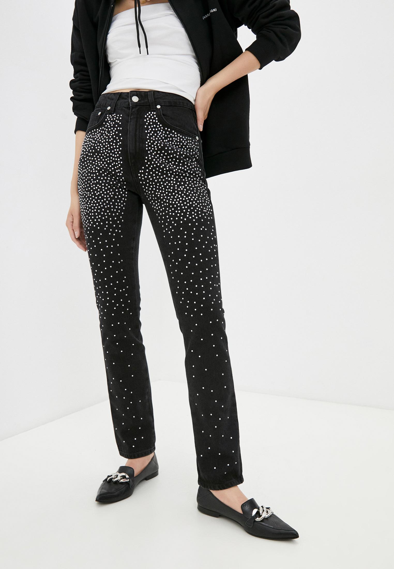 Зауженные джинсы Chiara Ferragni Collection 19PE-CFJS002