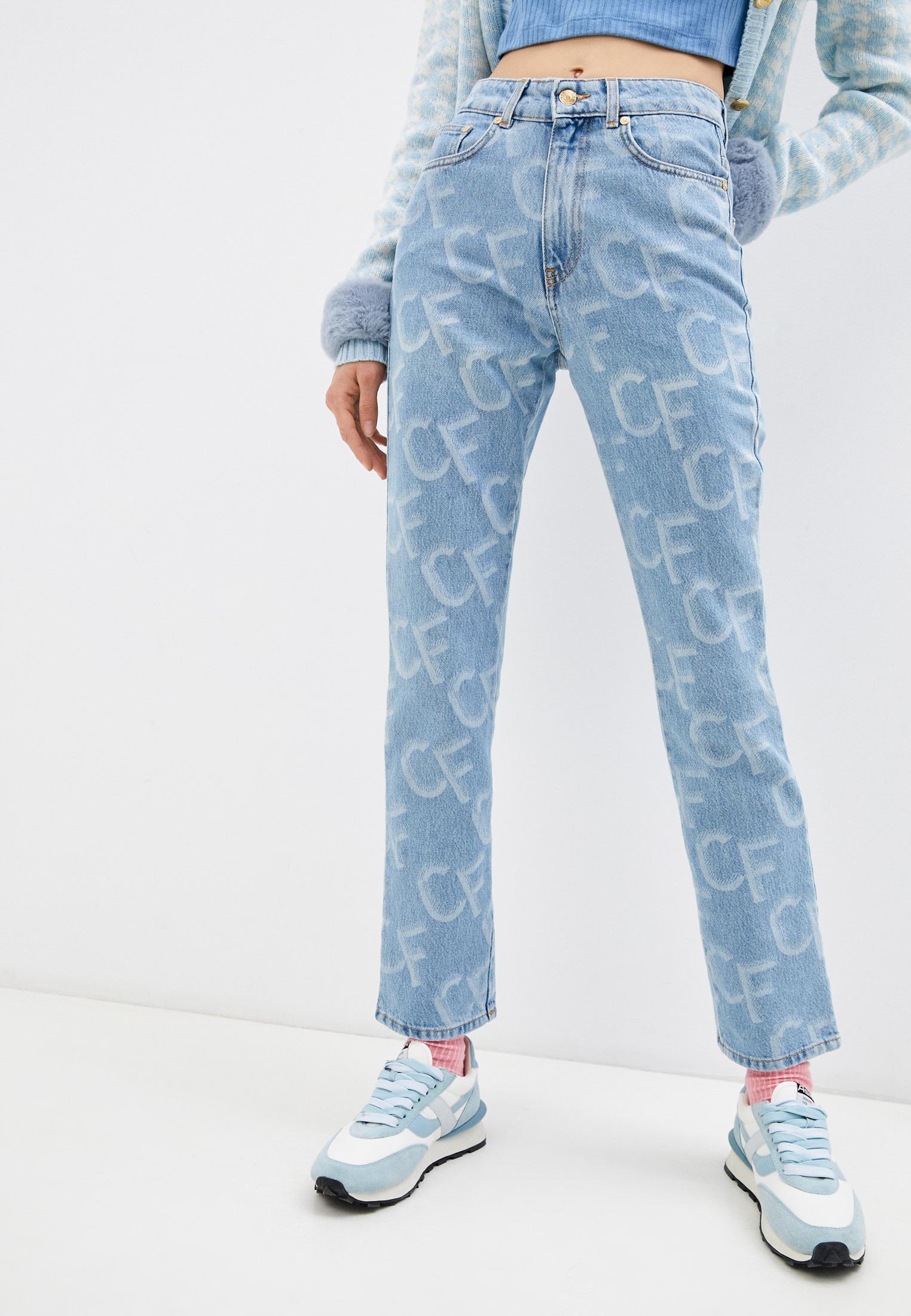 Прямые джинсы Chiara Ferragni Collection 20PE-CFJS012: изображение 1
