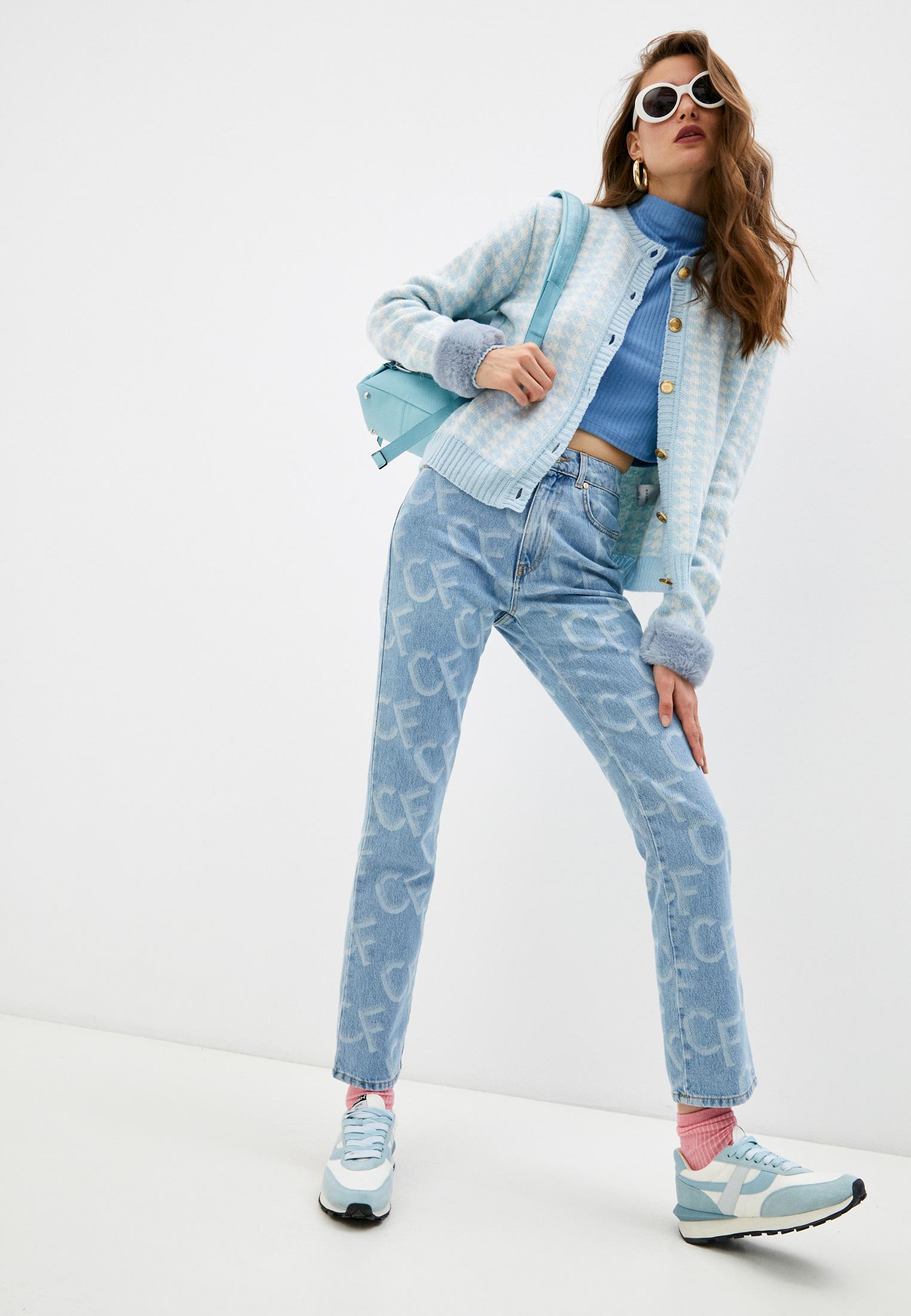 Прямые джинсы Chiara Ferragni Collection 20PE-CFJS012: изображение 3