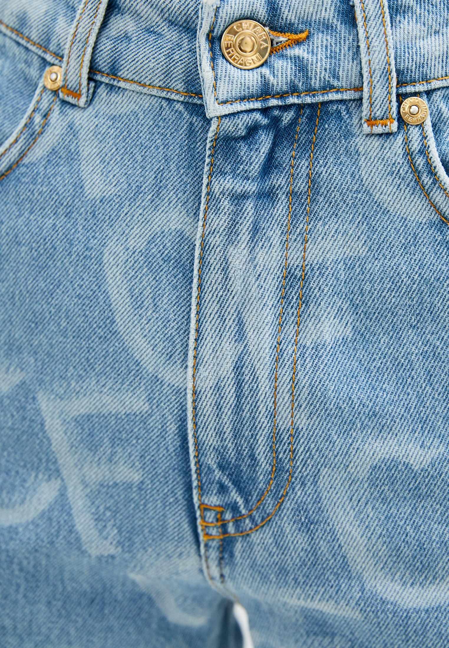 Прямые джинсы Chiara Ferragni Collection 20PE-CFJS012: изображение 5