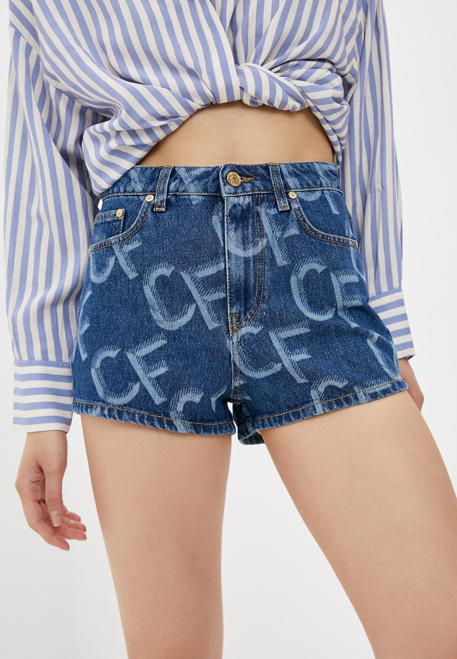 Женские джинсовые шорты Chiara Ferragni 20PE-CFS033