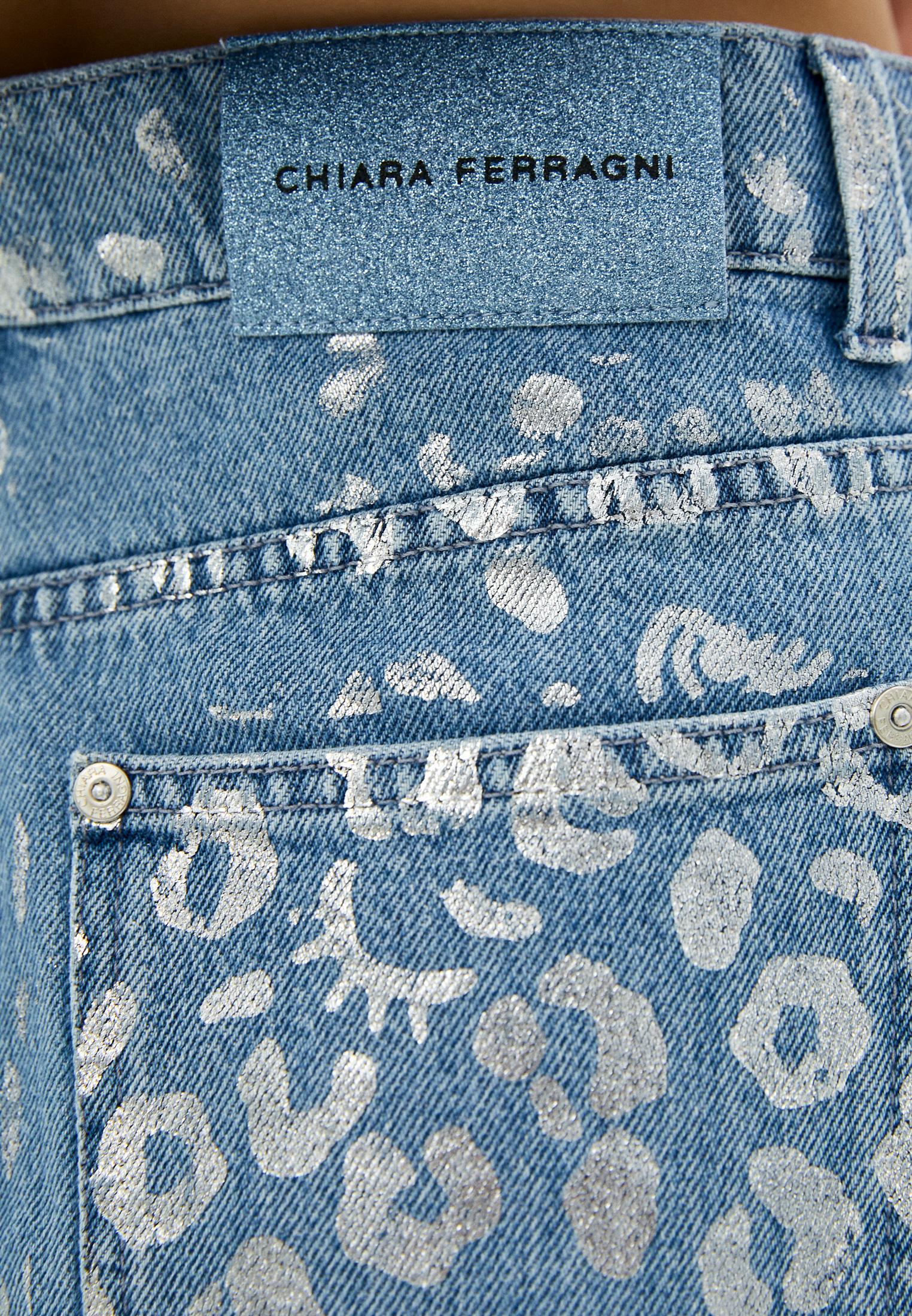 Джинсовая юбка Chiara Ferragni Collection 20PE-CFST031: изображение 5