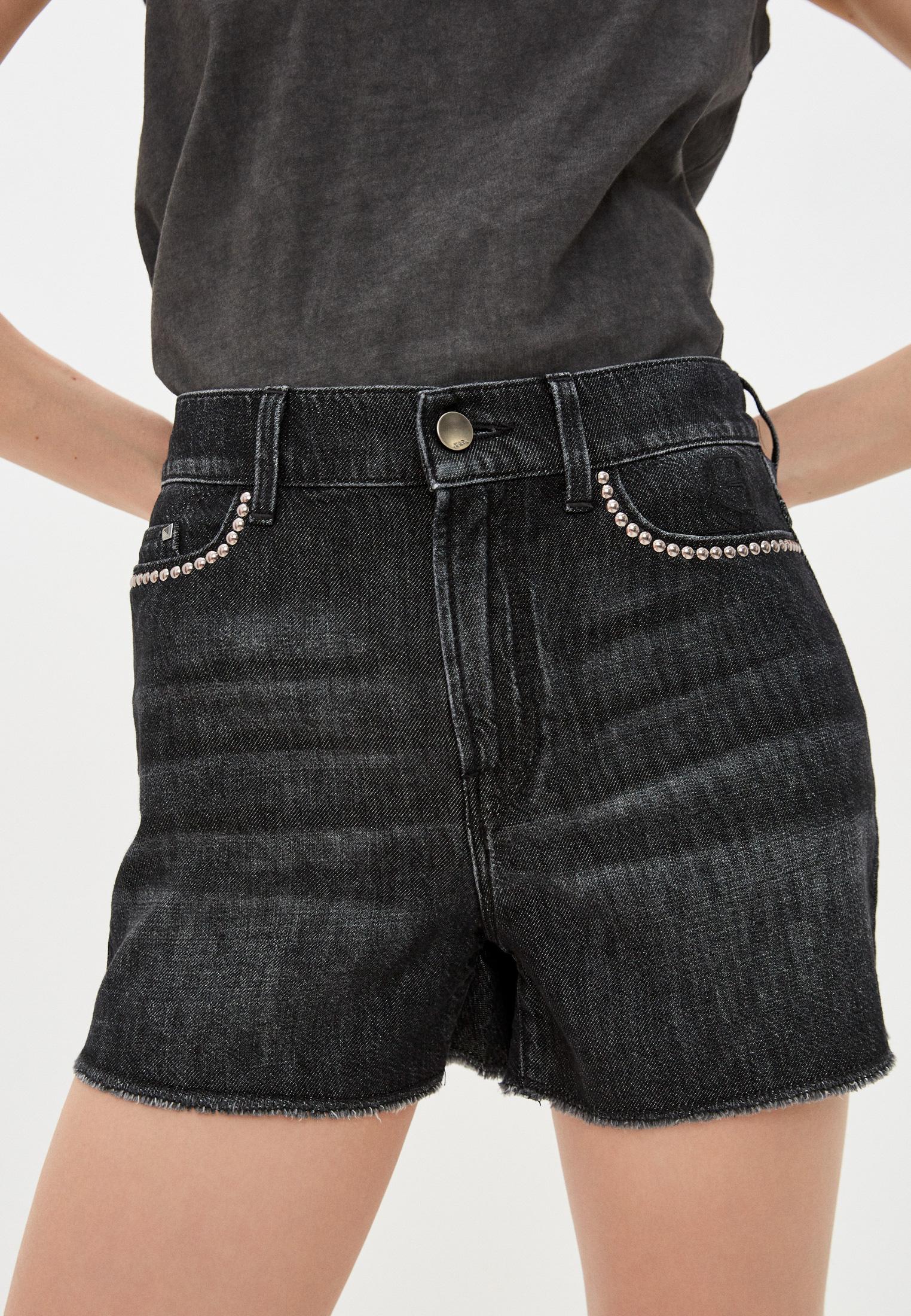 Женские джинсовые шорты Karl Lagerfeld Denim Шорты джинсовые Karl Lagerfeld Denim