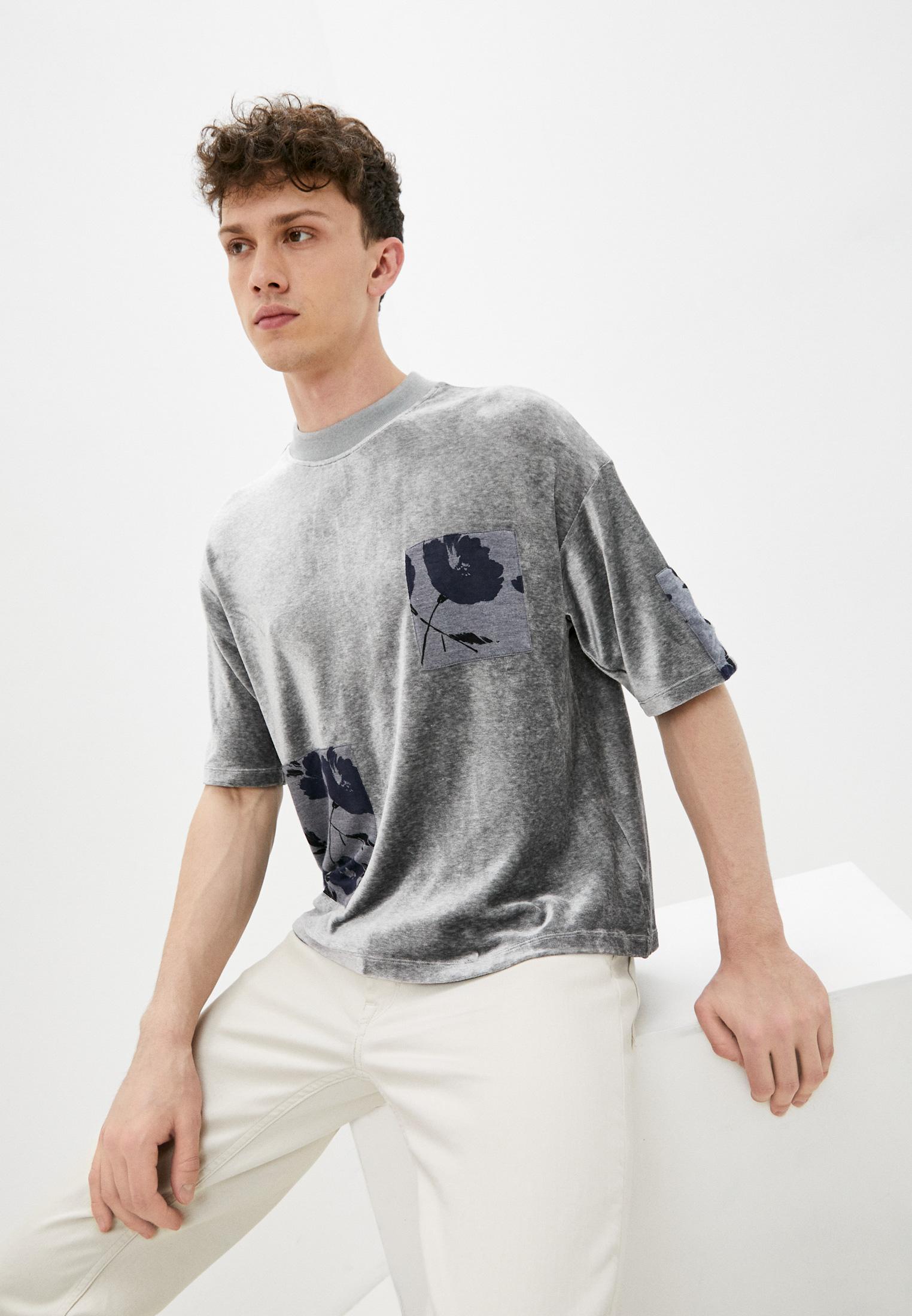 Мужская футболка Emporio Armani (Эмпорио Армани) 3Z1M6U 1J1JZ