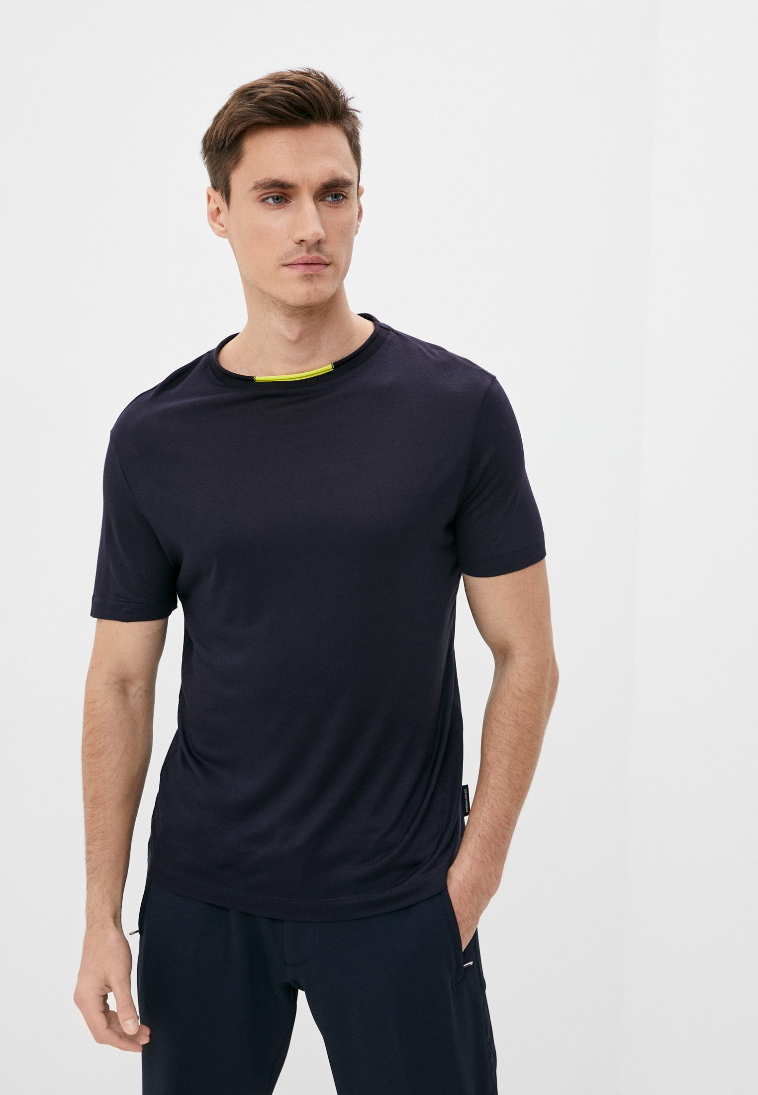 Мужская футболка Emporio Armani (Эмпорио Армани) 3Z1M6C 1JABZ