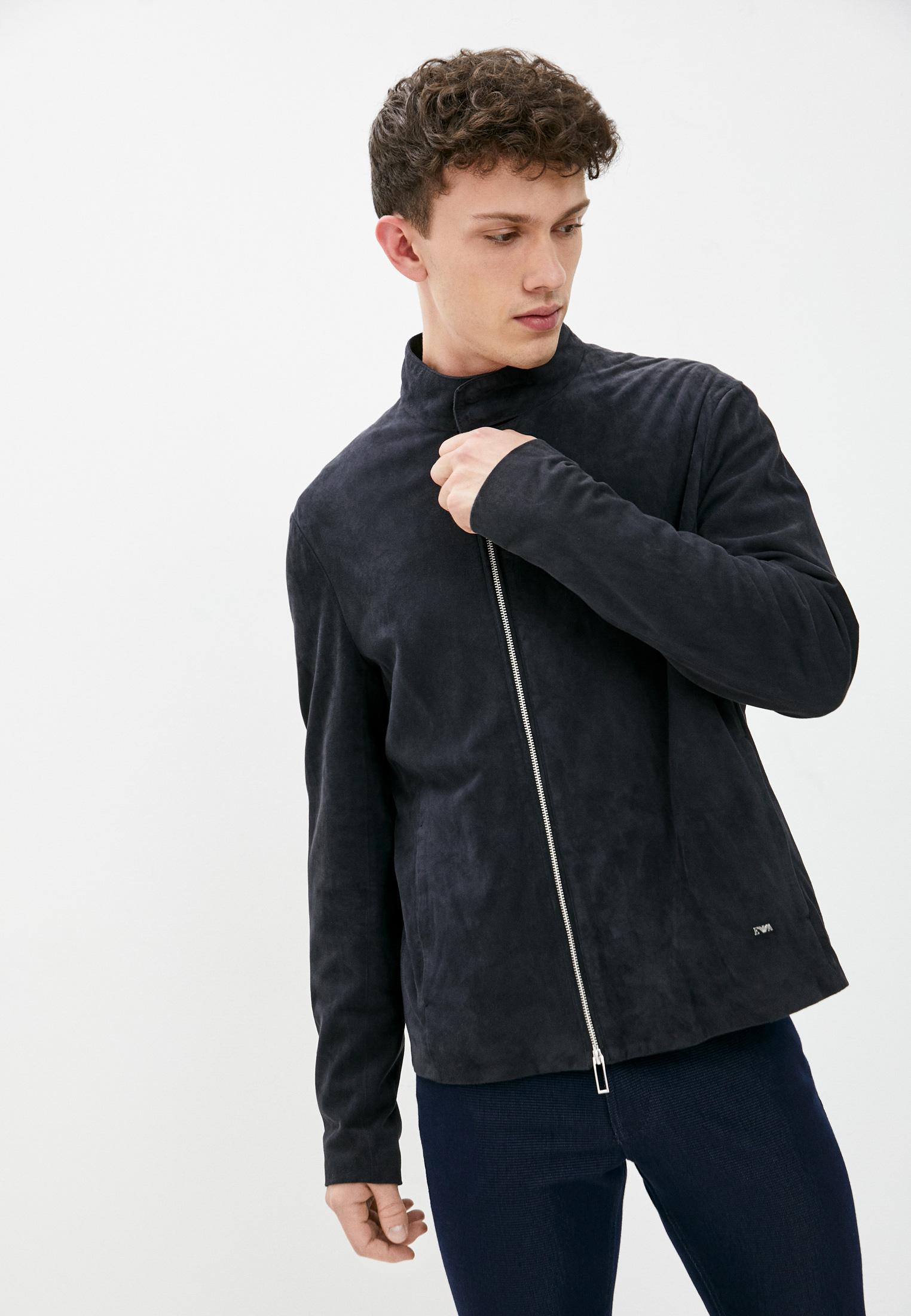 Кожаная куртка Emporio Armani (Эмпорио Армани) 1LBBZ