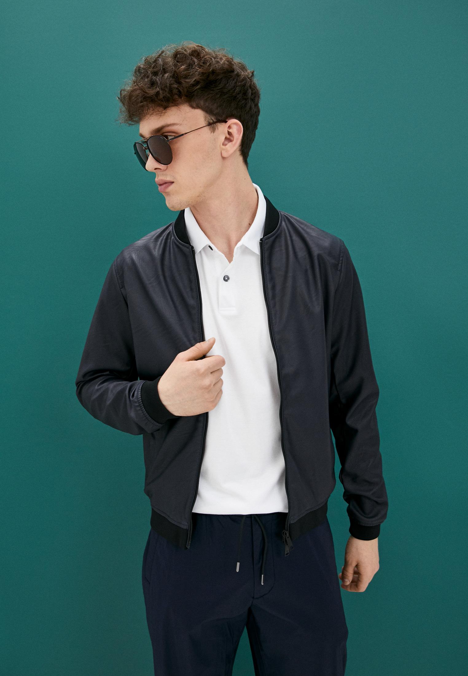 Кожаная куртка Armani Jeans (Армани Джинс) 6E01Z: изображение 2