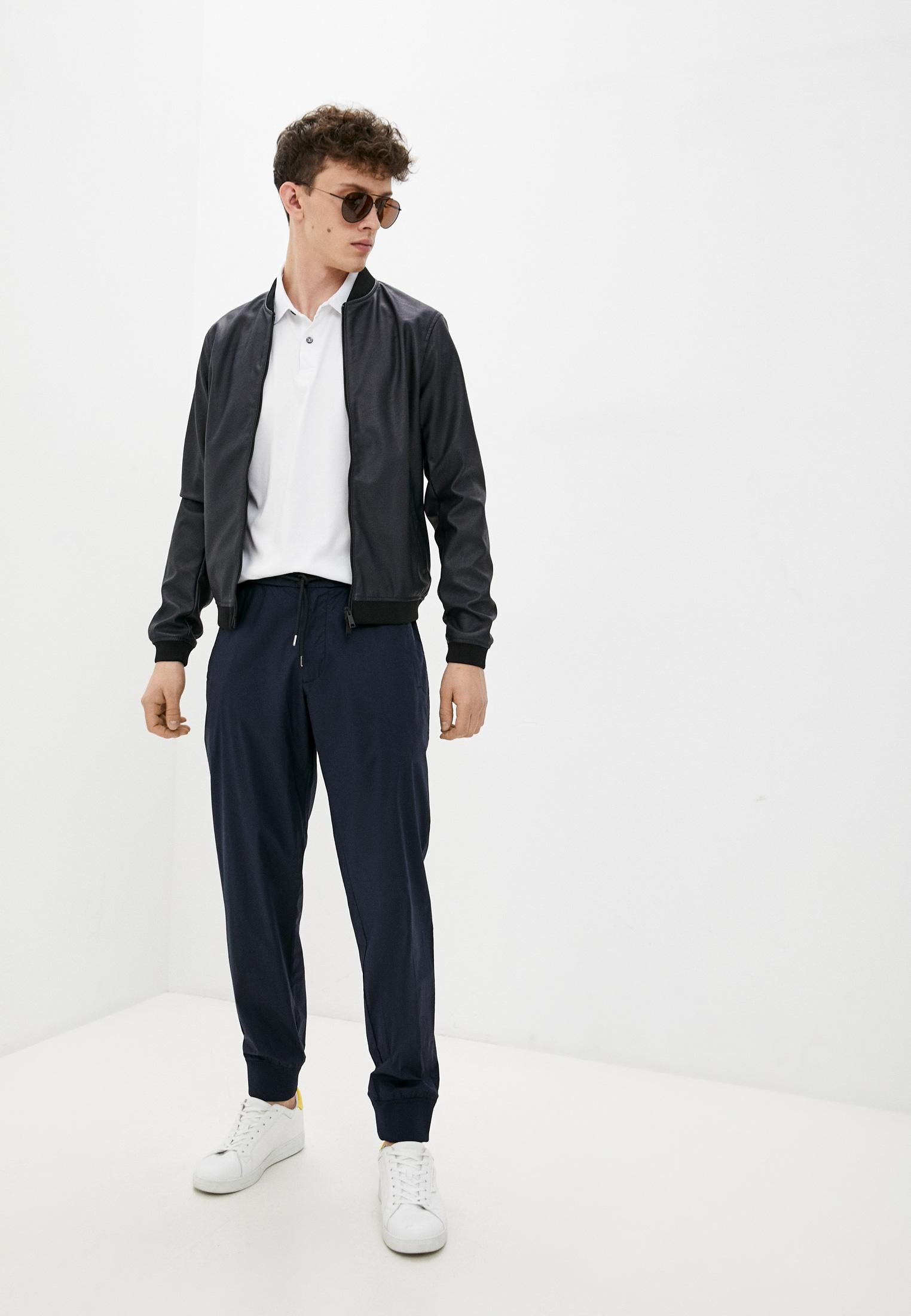 Кожаная куртка Armani Jeans (Армани Джинс) 6E01Z: изображение 3