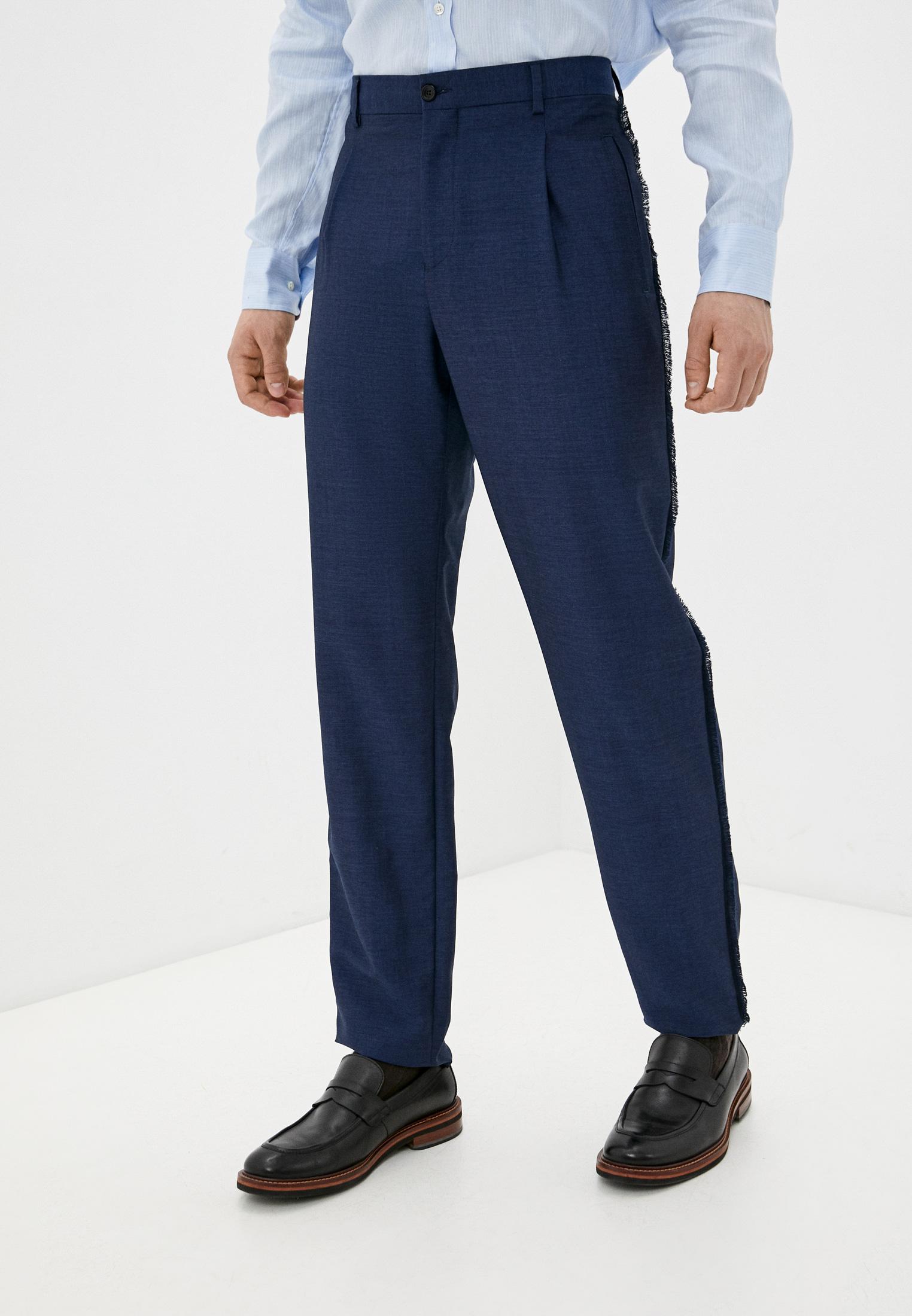 Мужские классические брюки Emporio Armani (Эмпорио Армани) W1P210 W1032