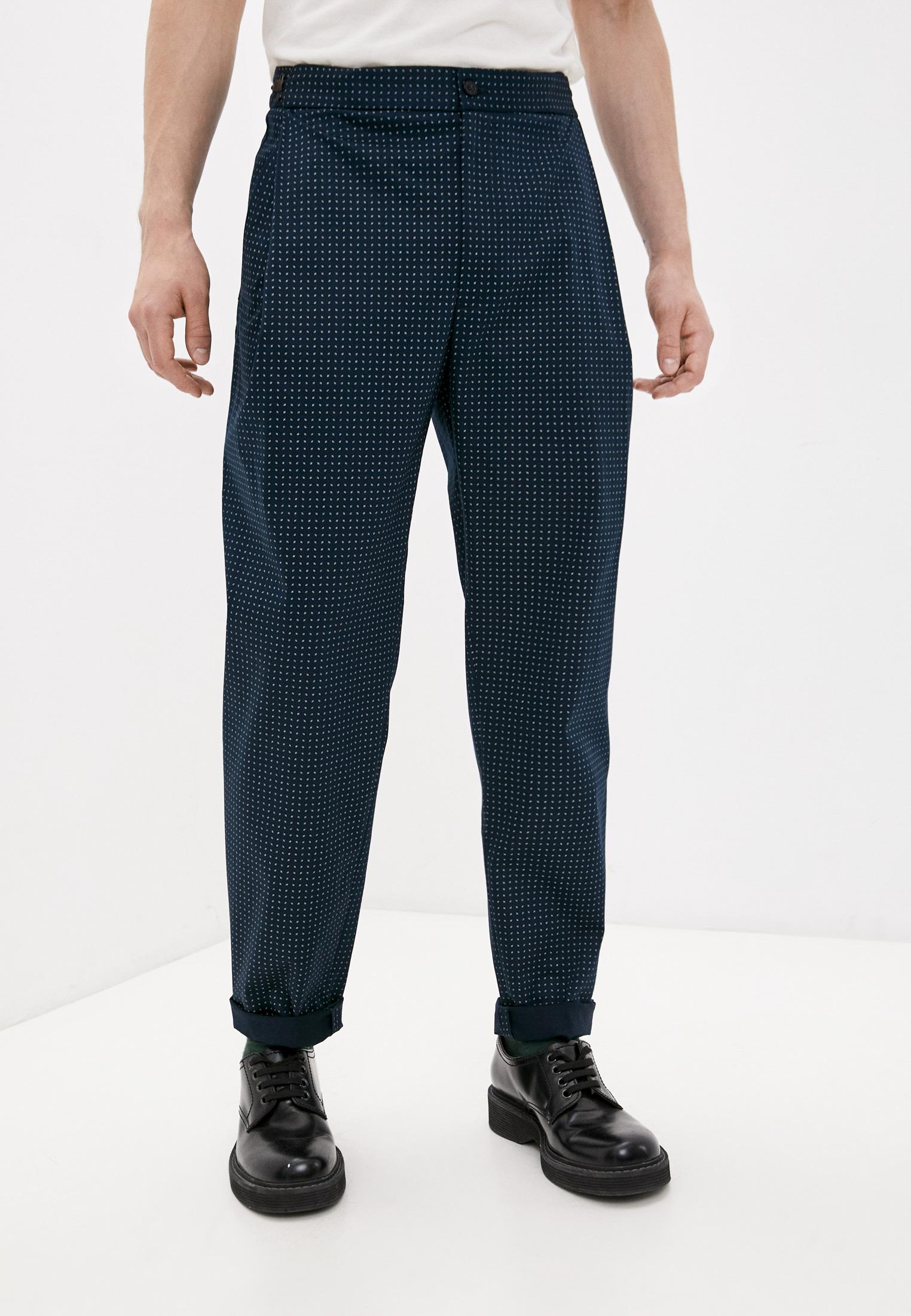 Мужские повседневные брюки Emporio Armani (Эмпорио Армани) W1P290 W1237