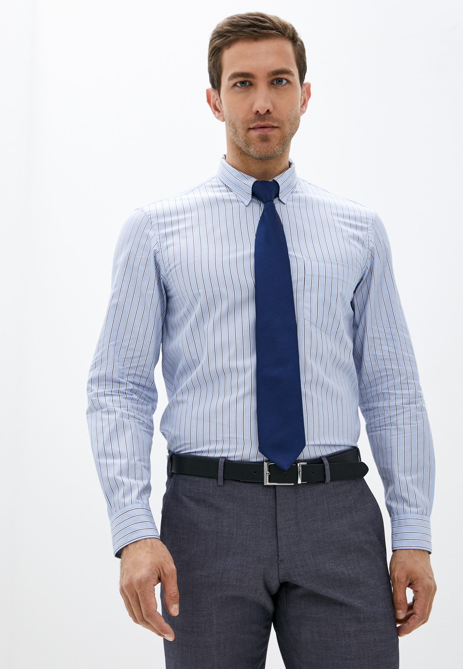Рубашка с длинным рукавом Emporio Armani (Эмпорио Армани) W1CC3T W151C