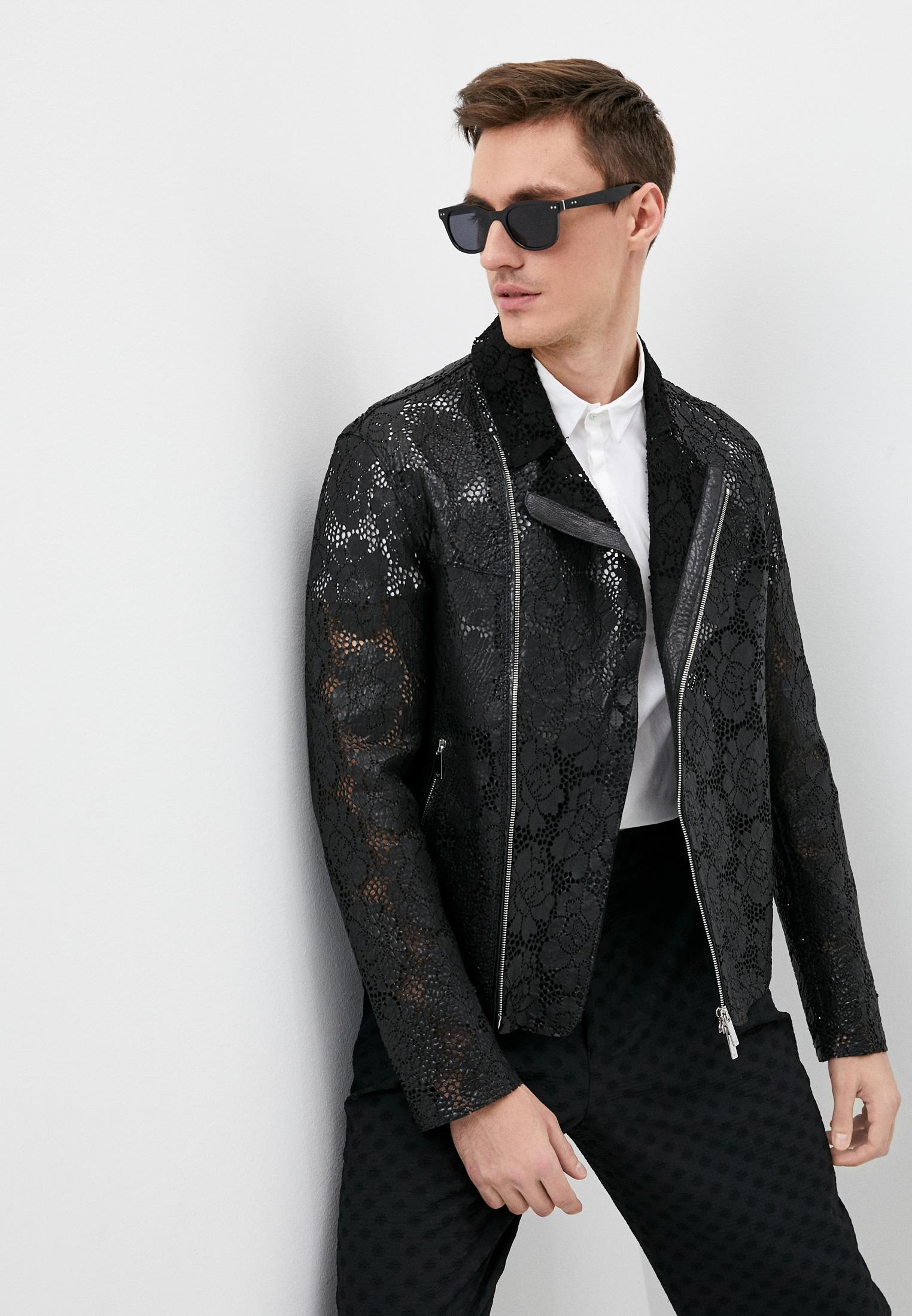 Кожаная куртка Emporio Armani W1P43