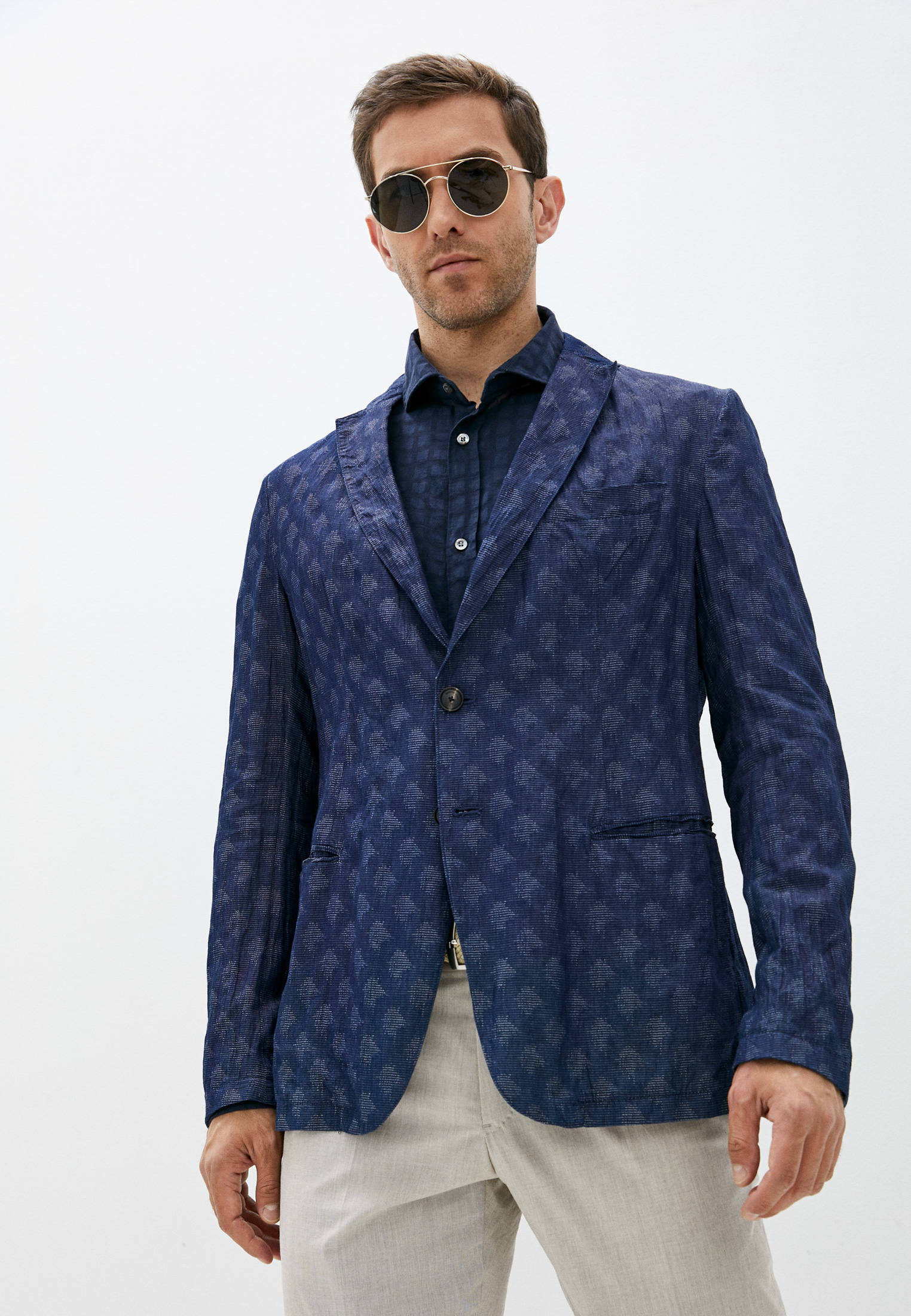 Мужской пиджак Emporio Armani (Эмпорио Армани) W1G28S W1S17