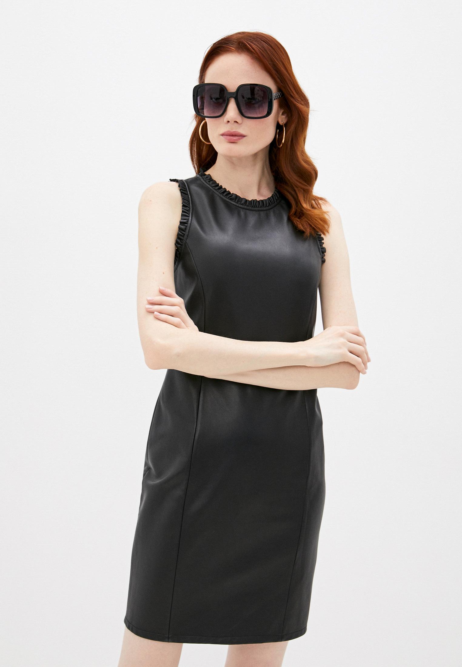 Платье Emporio Armani Платье кожаное Emporio Armani