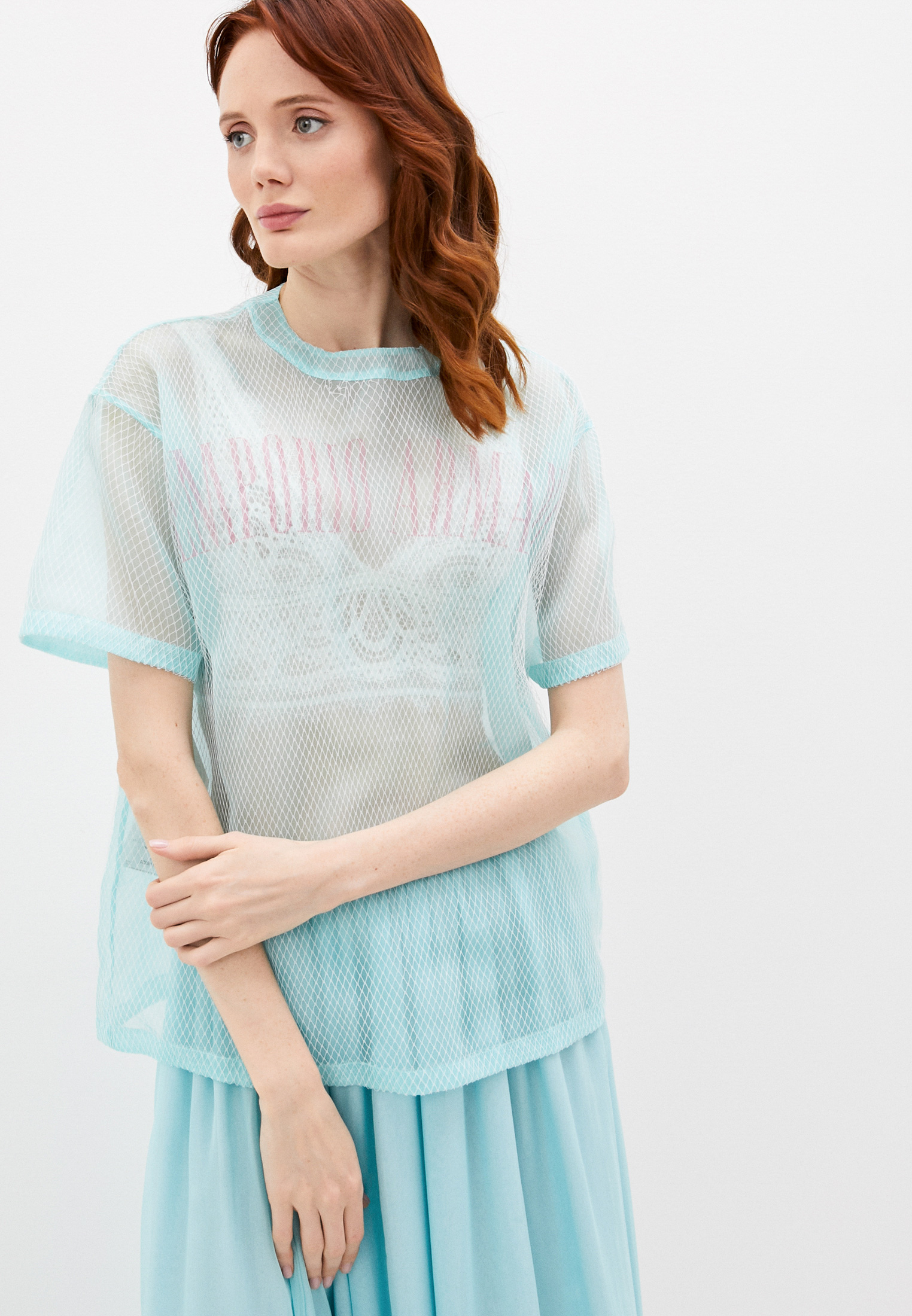 Блуза Emporio Armani WNK52T W8820