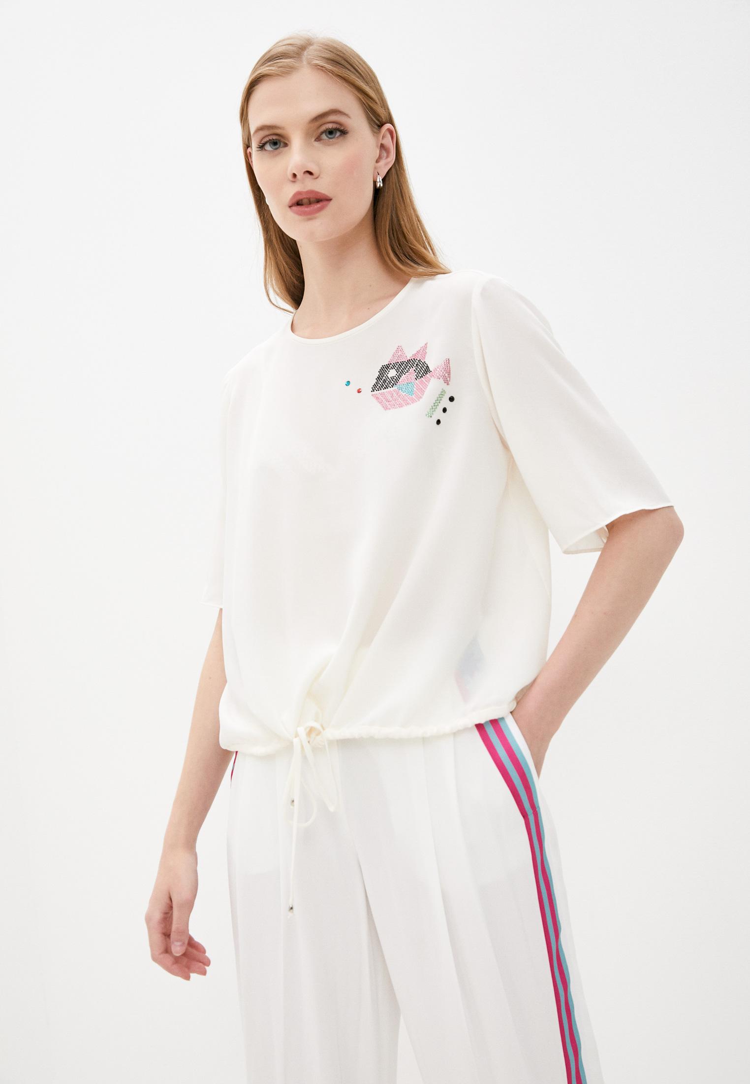 Блуза Emporio Armani WNK38T W8906