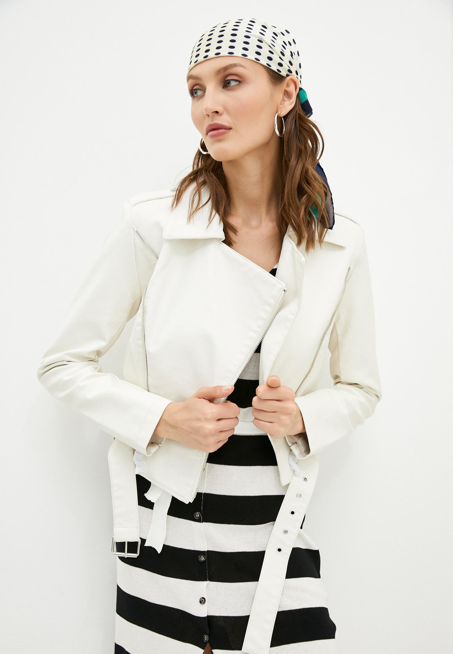 Кожаная куртка Silvian Heach PGP21034GB