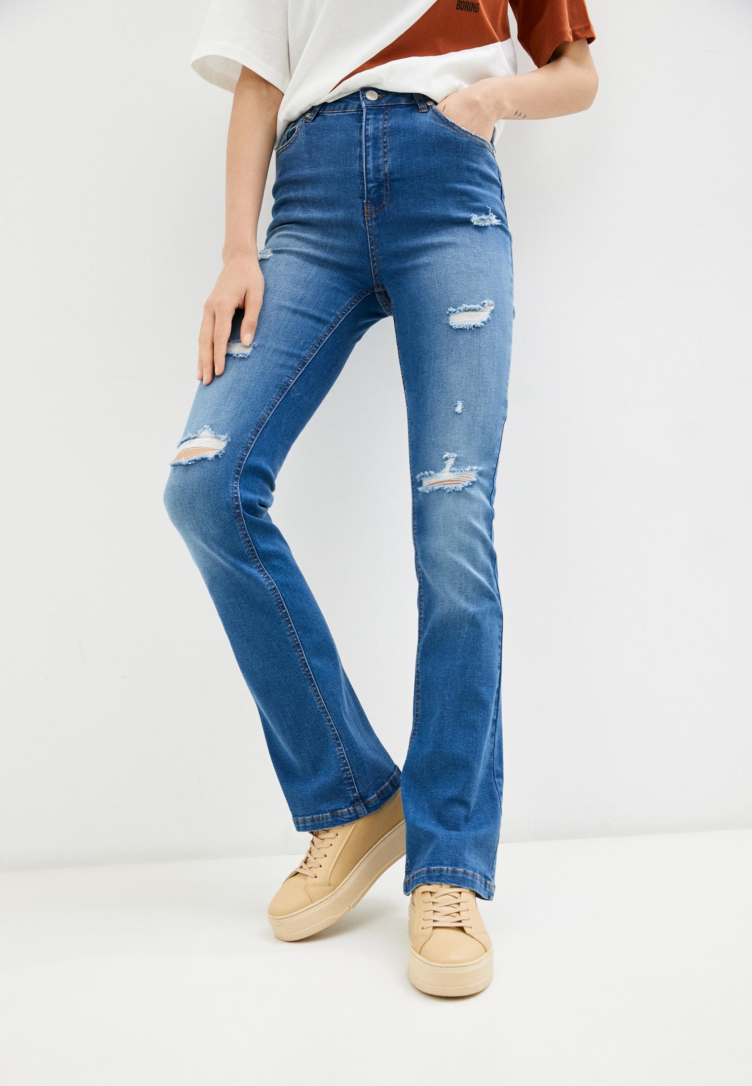 Широкие и расклешенные джинсы Silvian Heach PGP21675JE