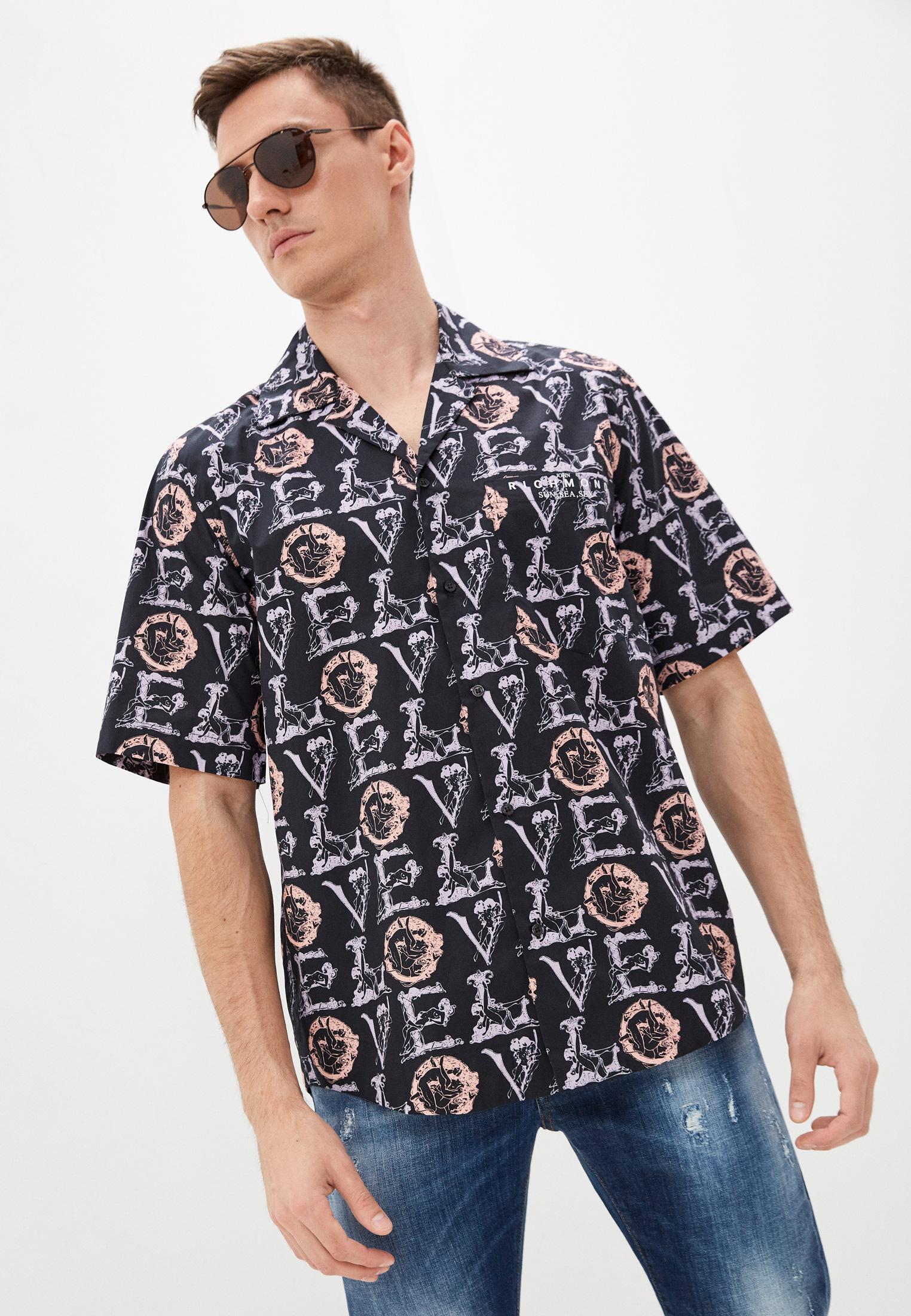 Рубашка с коротким рукавом John Richmond (Джон Ричмонд) Рубашка John Richmond