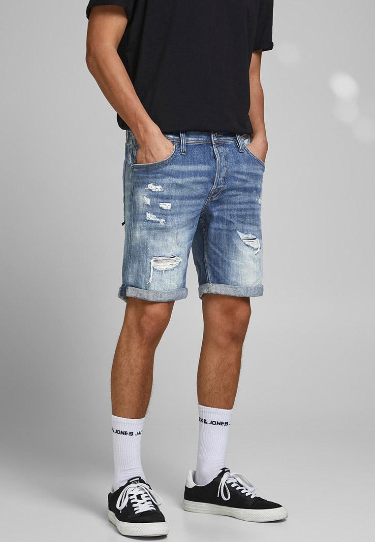 Мужские джинсовые шорты Jack & Jones (Джек Энд Джонс) 12185943