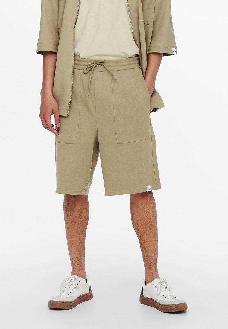 Мужские повседневные шорты Only & Sons (Онли Энд Санс) 22019696