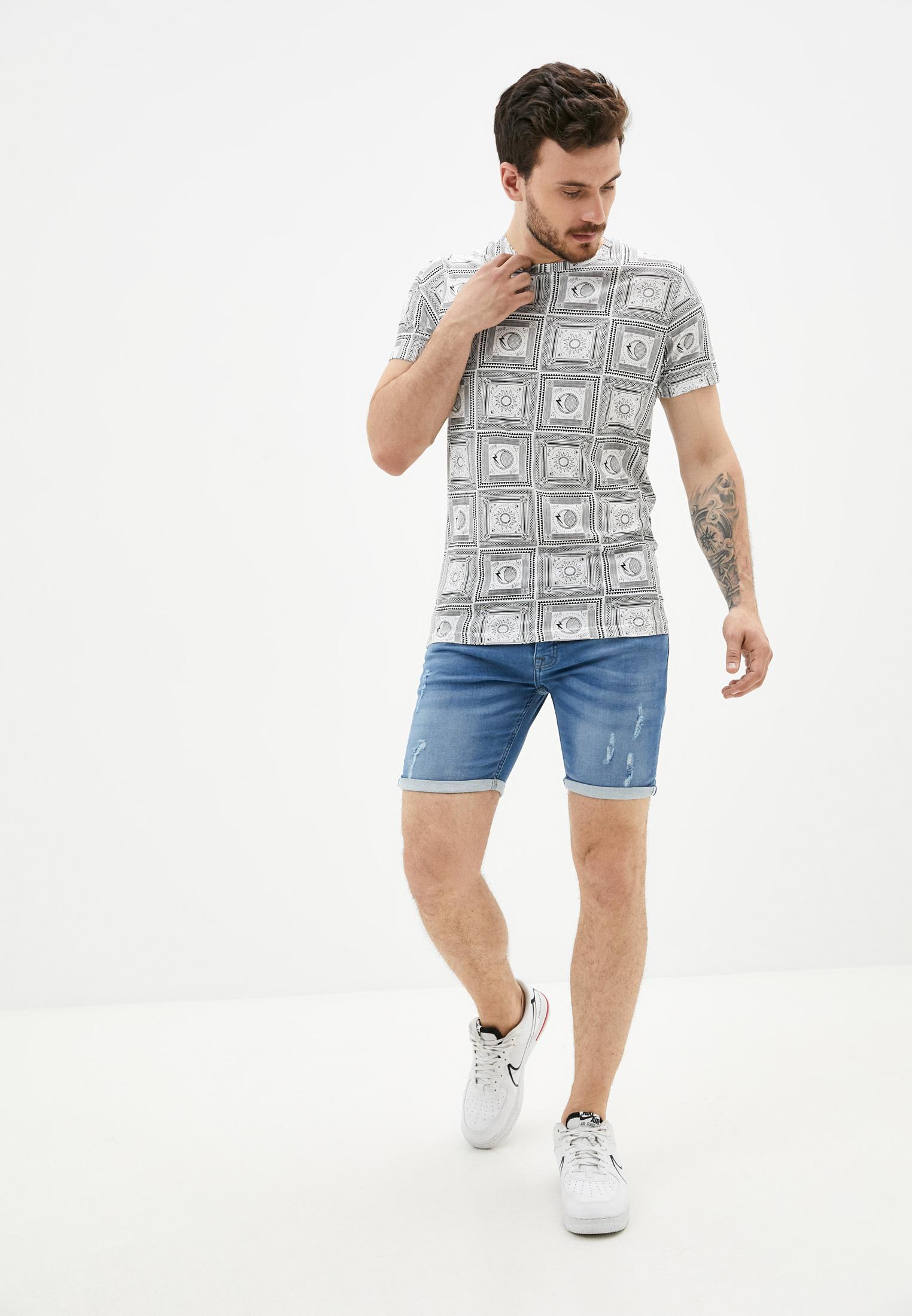Мужские джинсовые шорты Brave Soul MSRT-LINCOLNLIGT: изображение 2