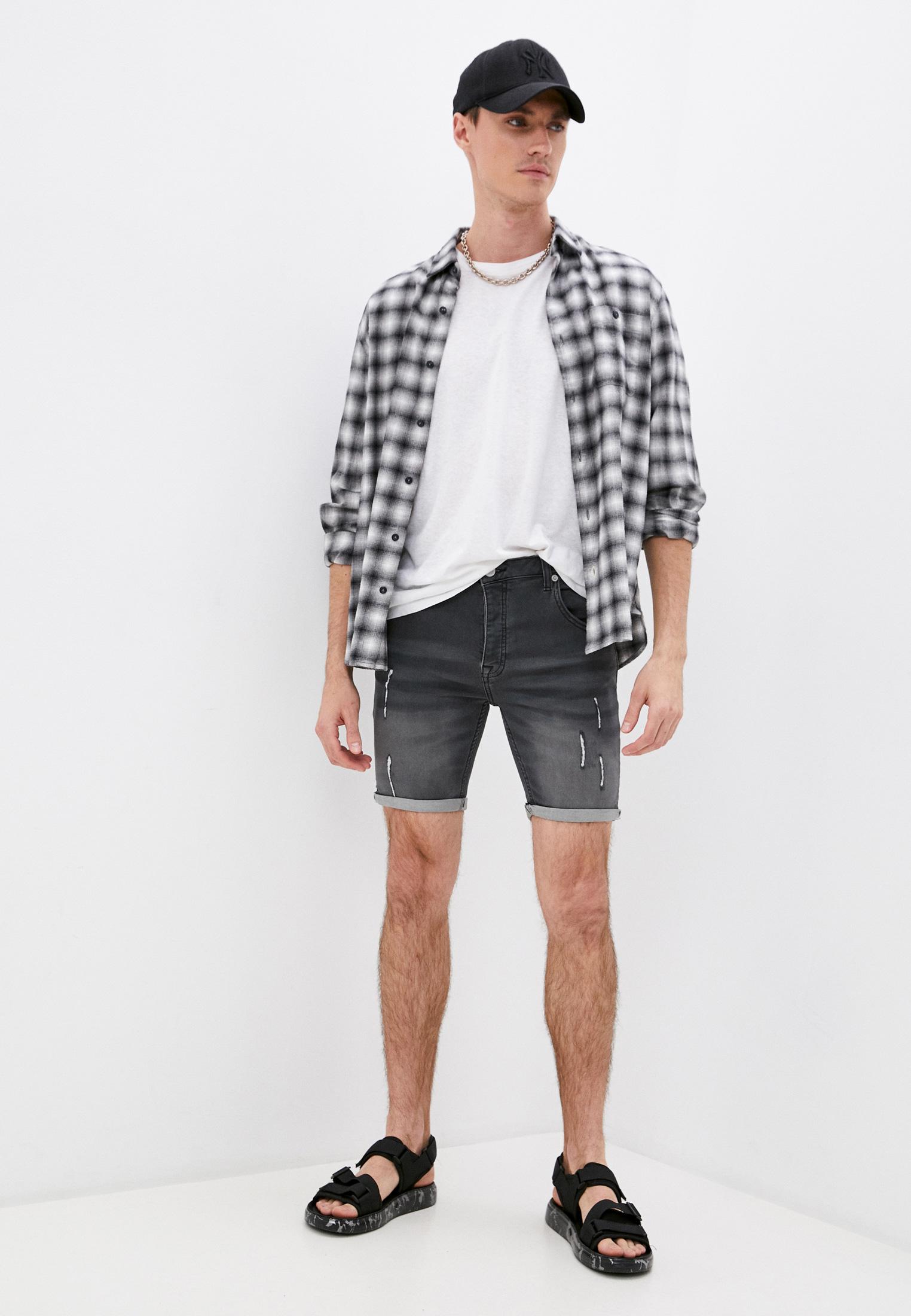 Мужские джинсовые шорты Brave Soul MSRT-LINCOLNCHAR: изображение 2