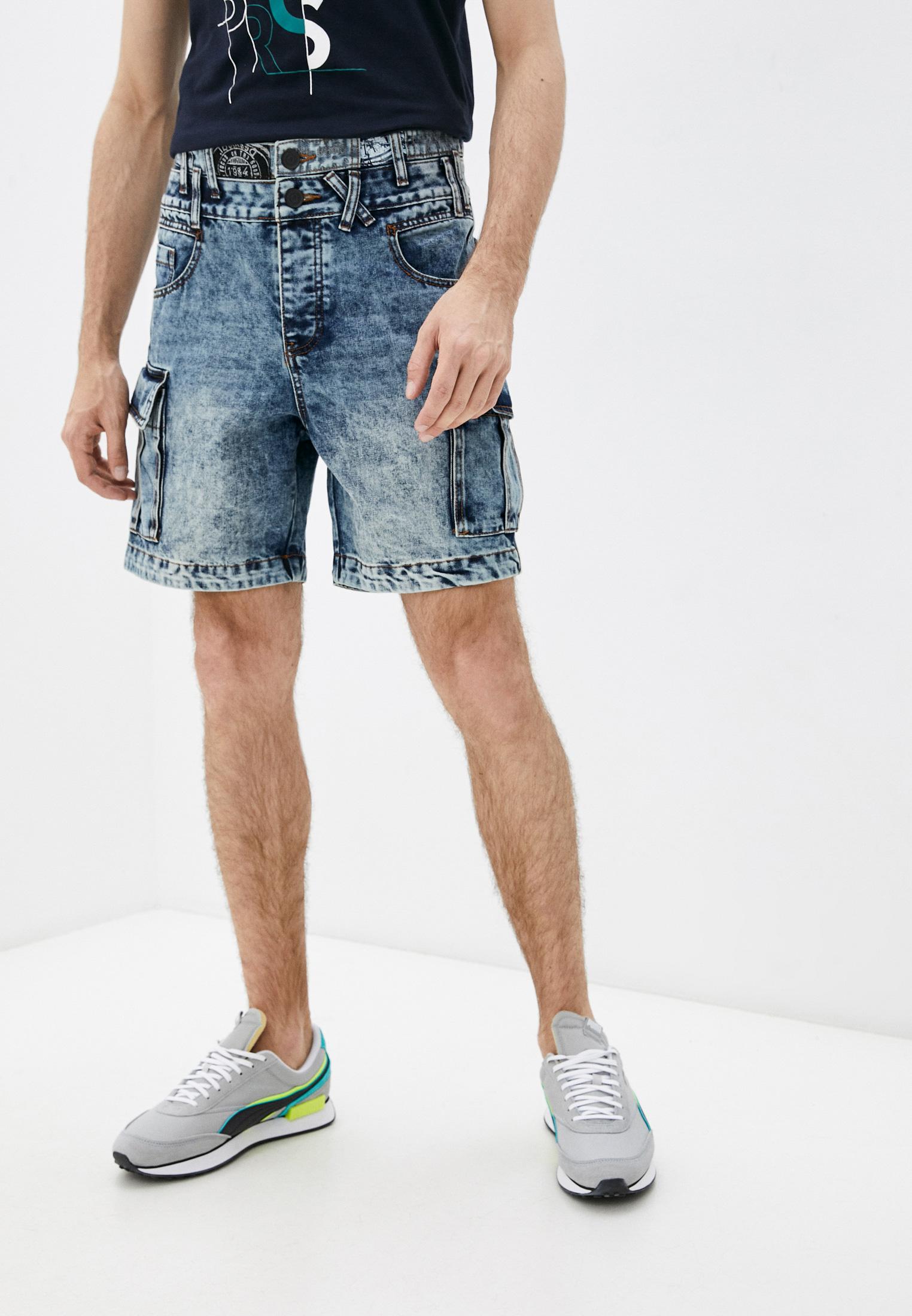 Мужские джинсовые шорты Desigual (Дезигуаль) 21SMDD01