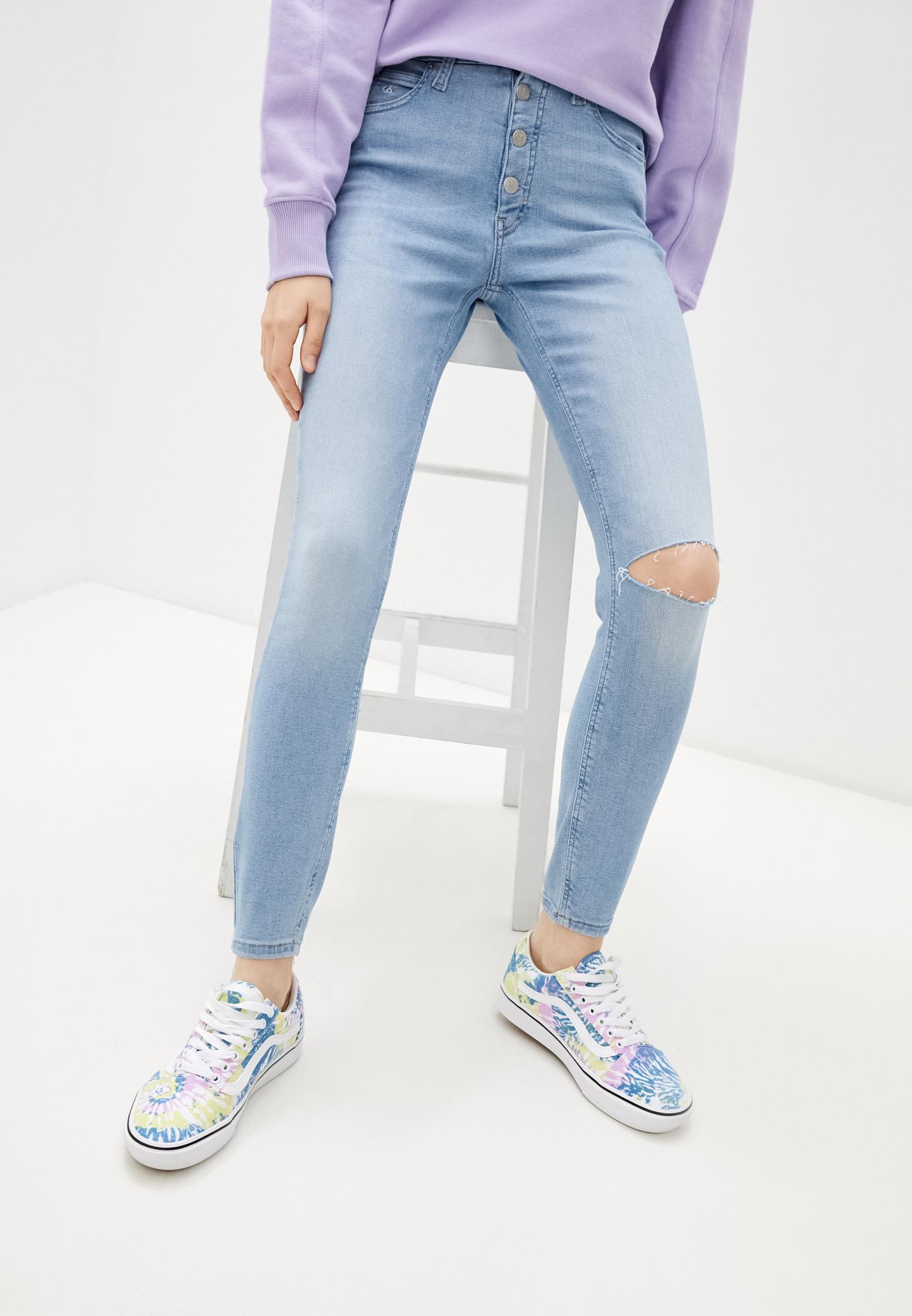 Зауженные джинсы Calvin Klein Jeans J20J216298: изображение 1