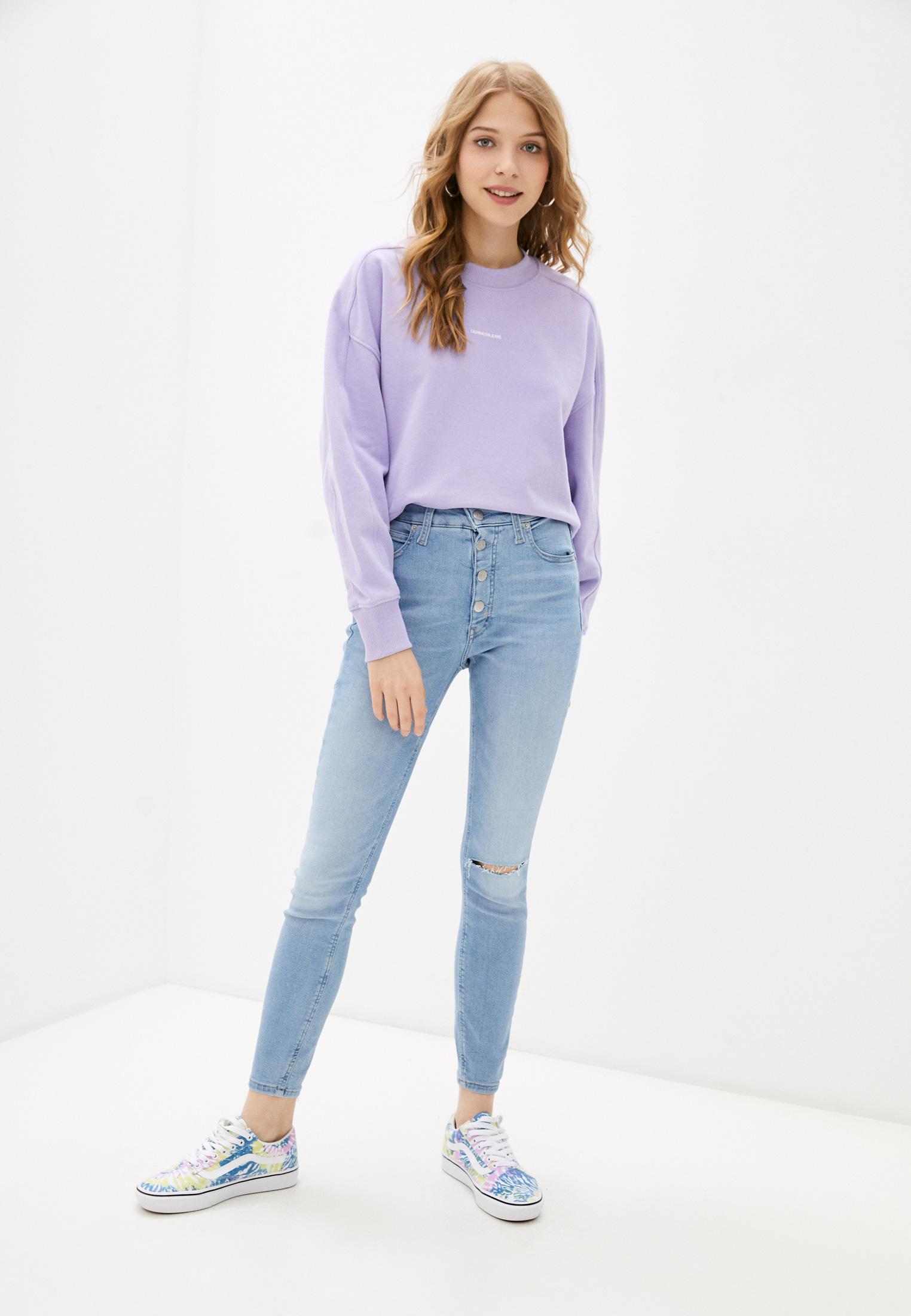Зауженные джинсы Calvin Klein Jeans J20J216298: изображение 2