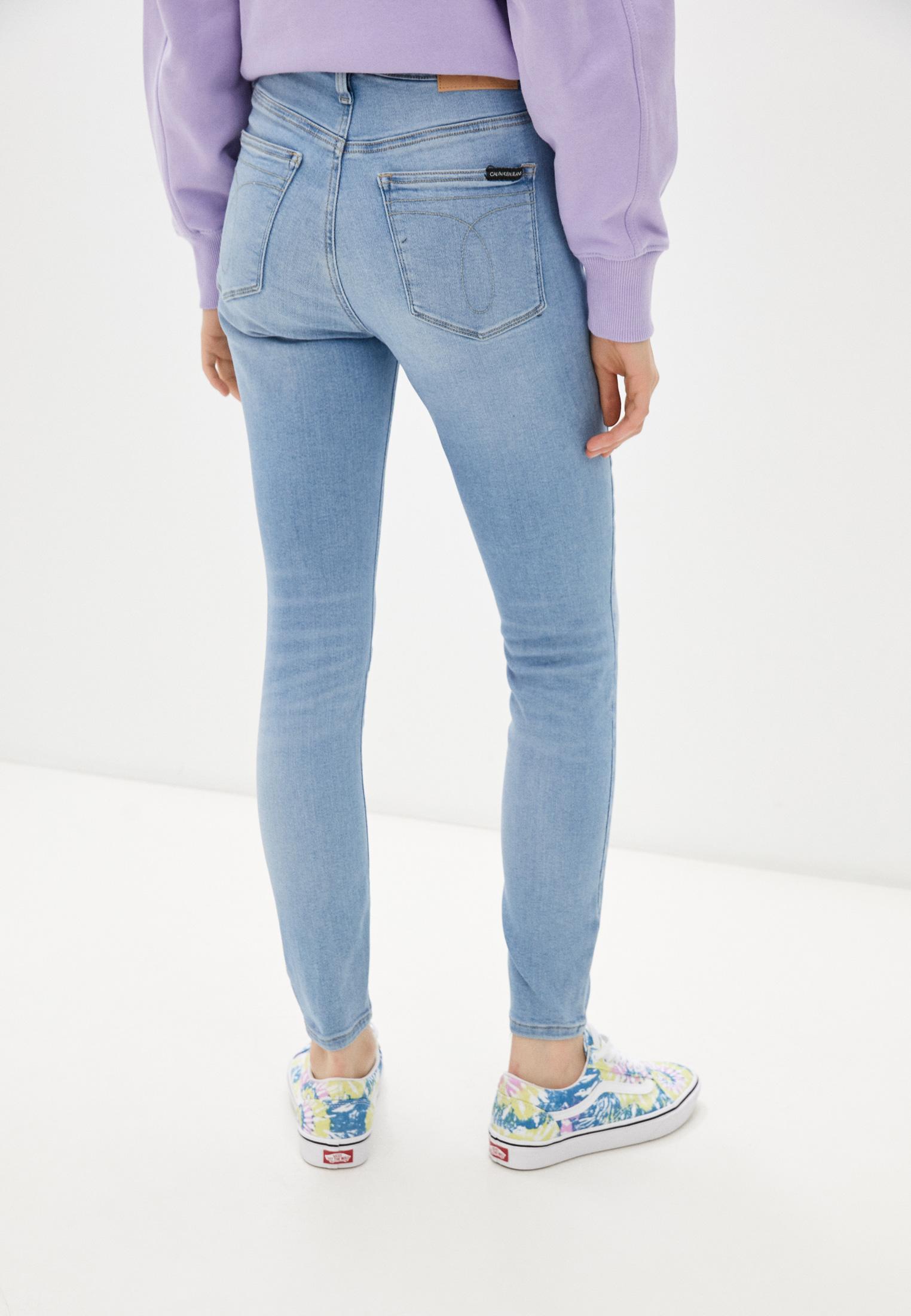 Зауженные джинсы Calvin Klein Jeans J20J216298: изображение 3