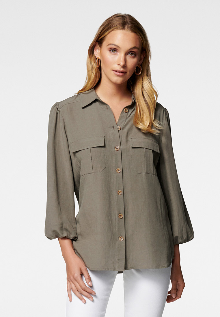 Женские рубашки с длинным рукавом Forever New SHZ9346