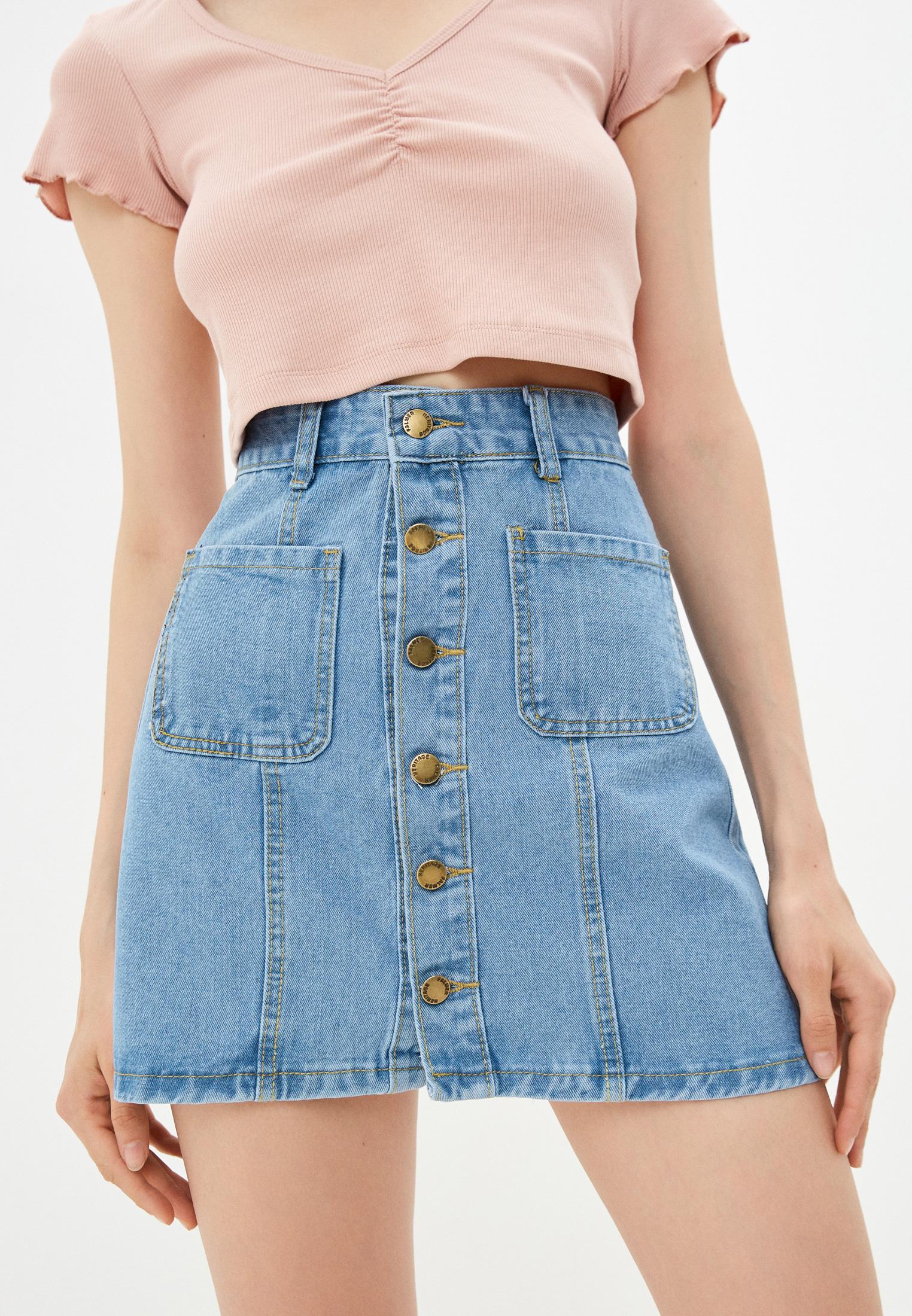 Джинсовая юбка Moki К0262: изображение 1