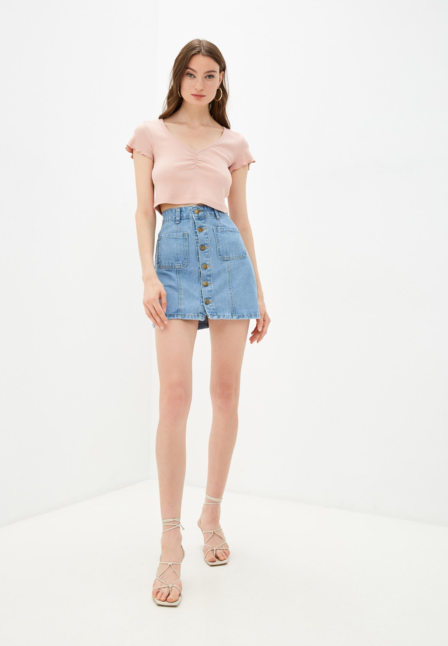Джинсовая юбка Moki К0262: изображение 2