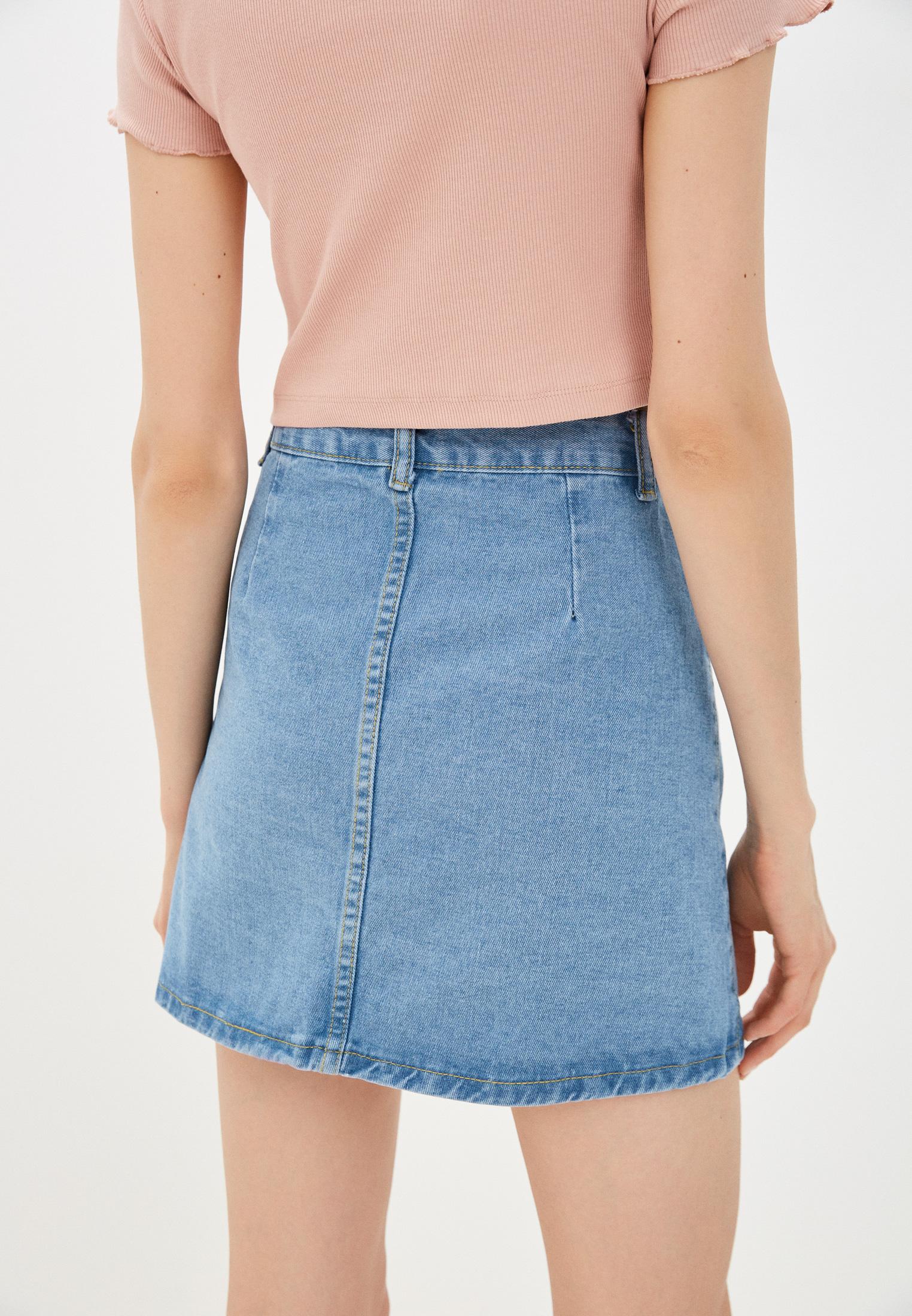 Джинсовая юбка Moki К0262: изображение 3