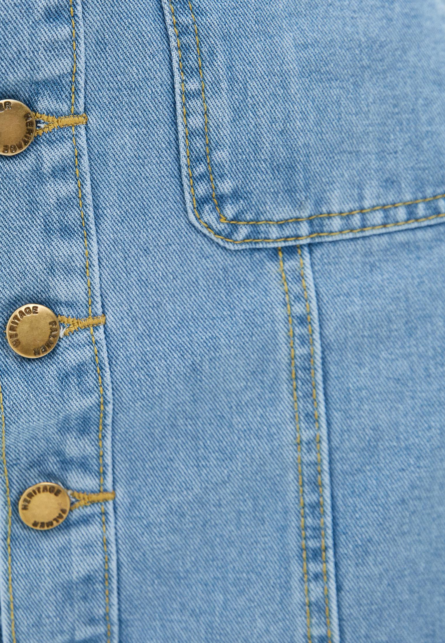 Джинсовая юбка Moki К0262: изображение 4