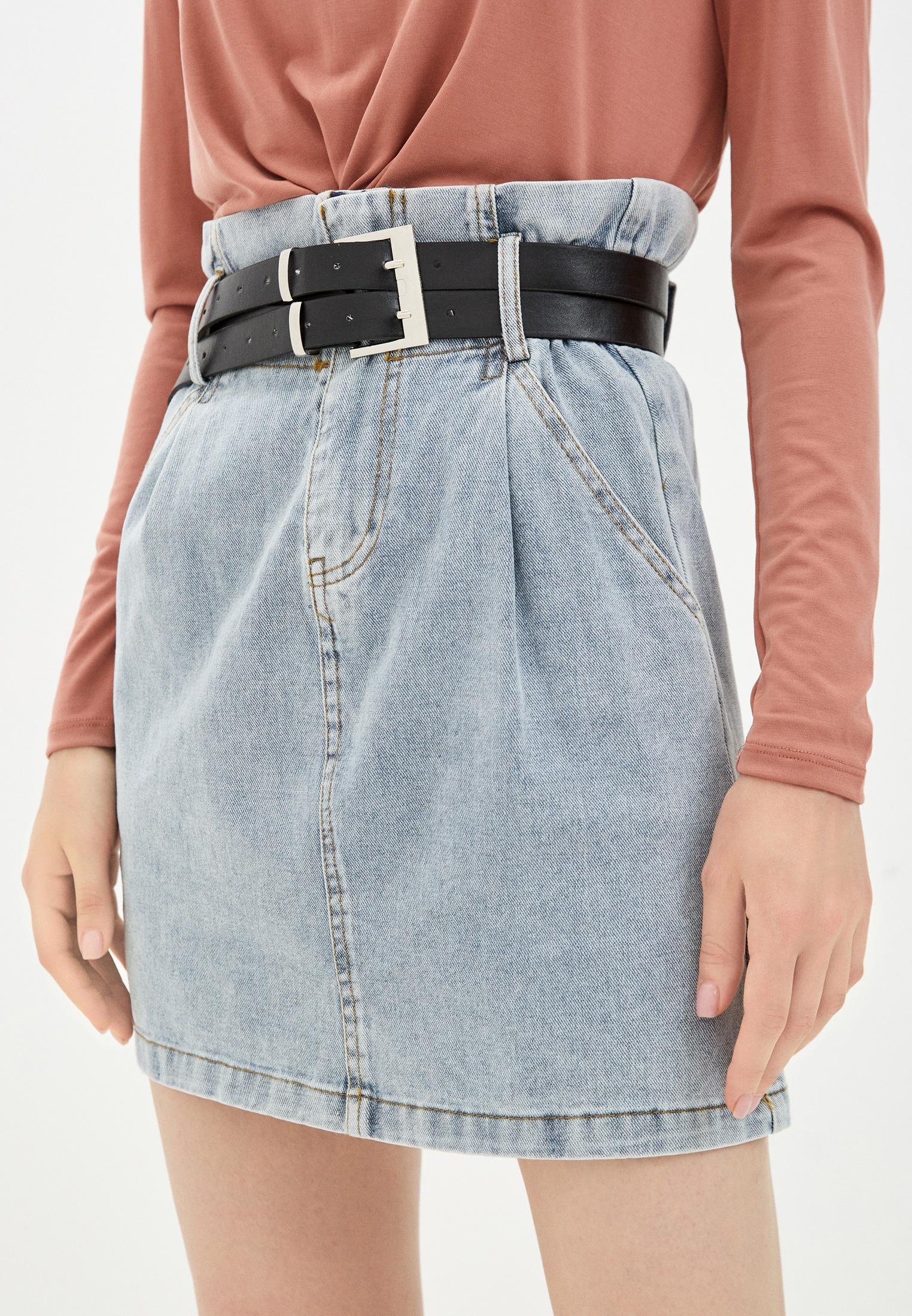 Джинсовая юбка Miss Gabby 5758