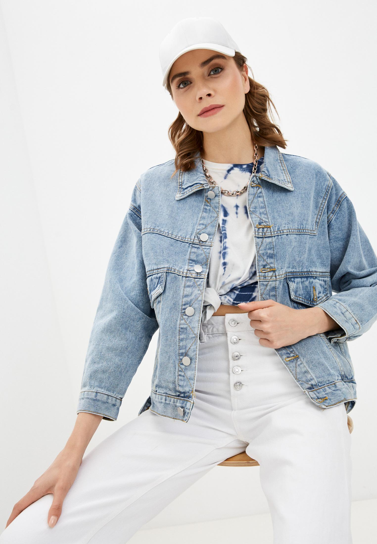 Джинсовая куртка Miss Gabby Куртка джинсовая Miss Gabby