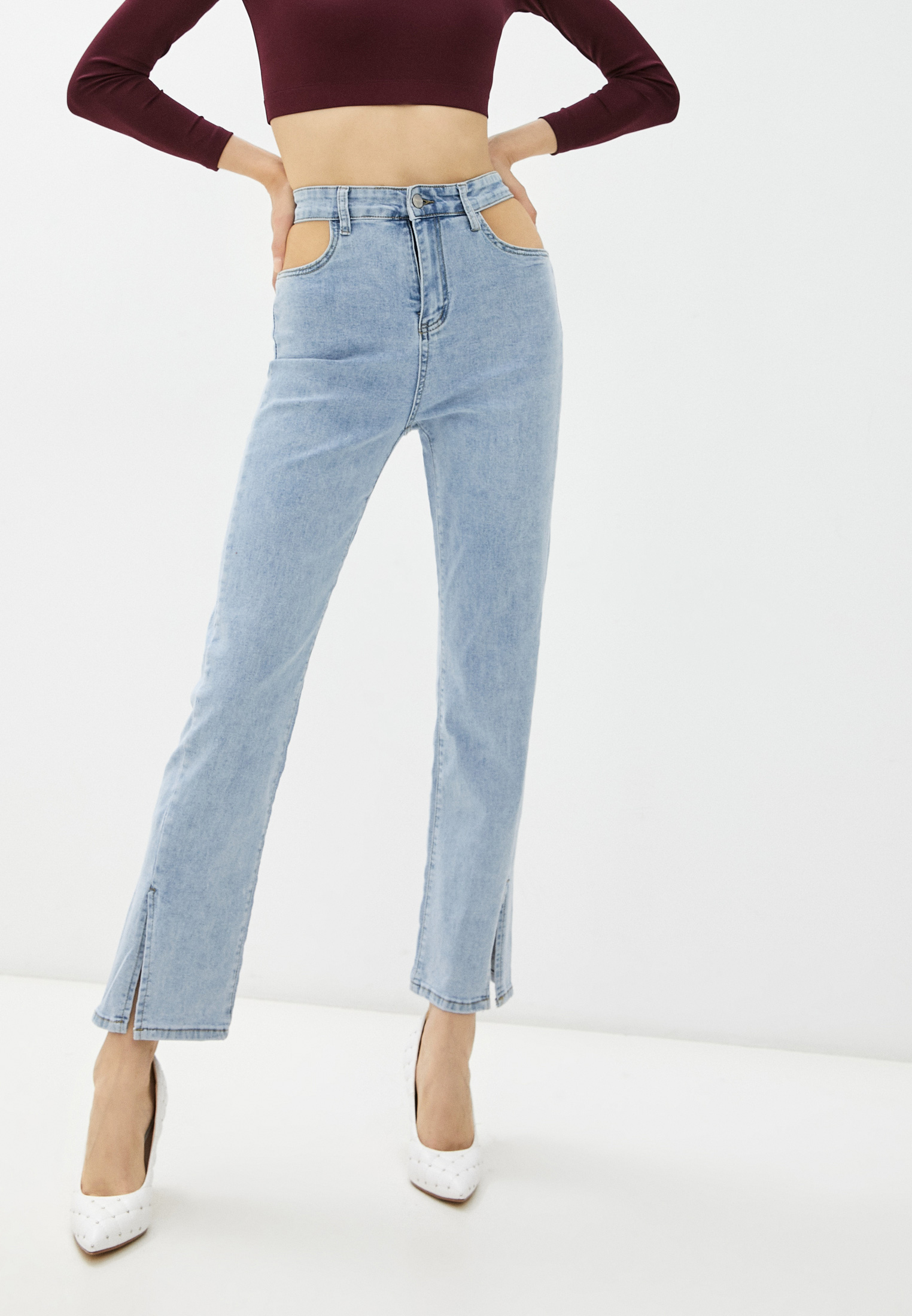 Прямые джинсы Miss Gabby 88802