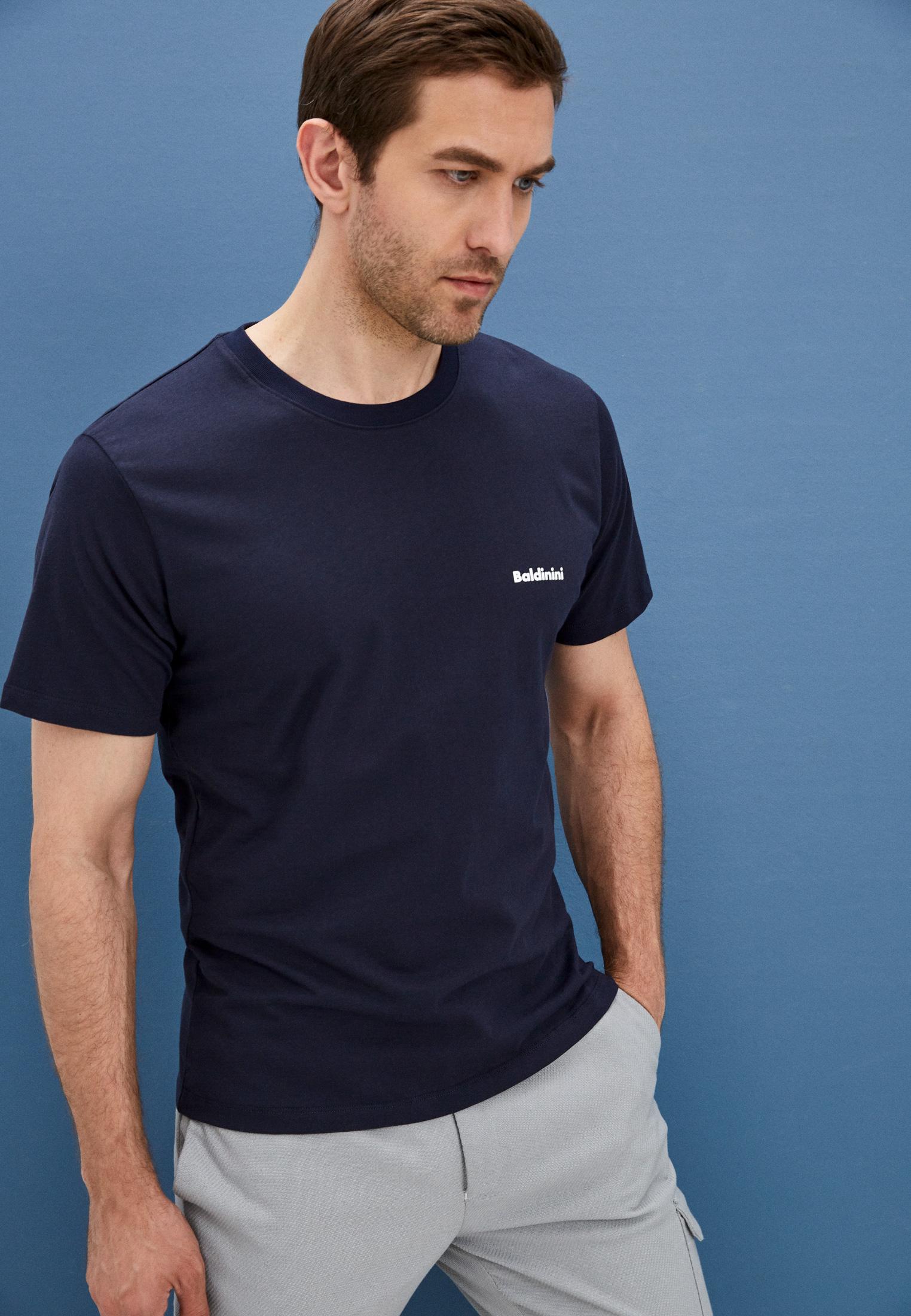 Мужская футболка Baldinini (Балдинини) A1UTS01BTEJ004: изображение 2