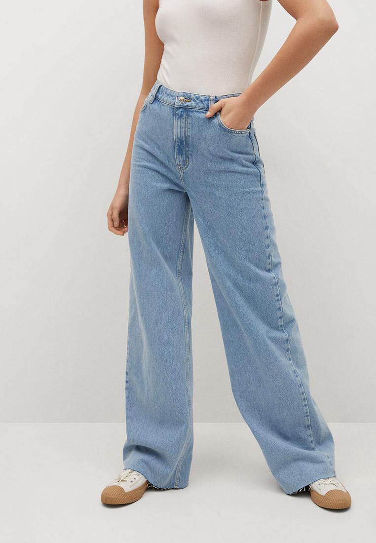 Широкие и расклешенные джинсы Mango (Манго) 87087146